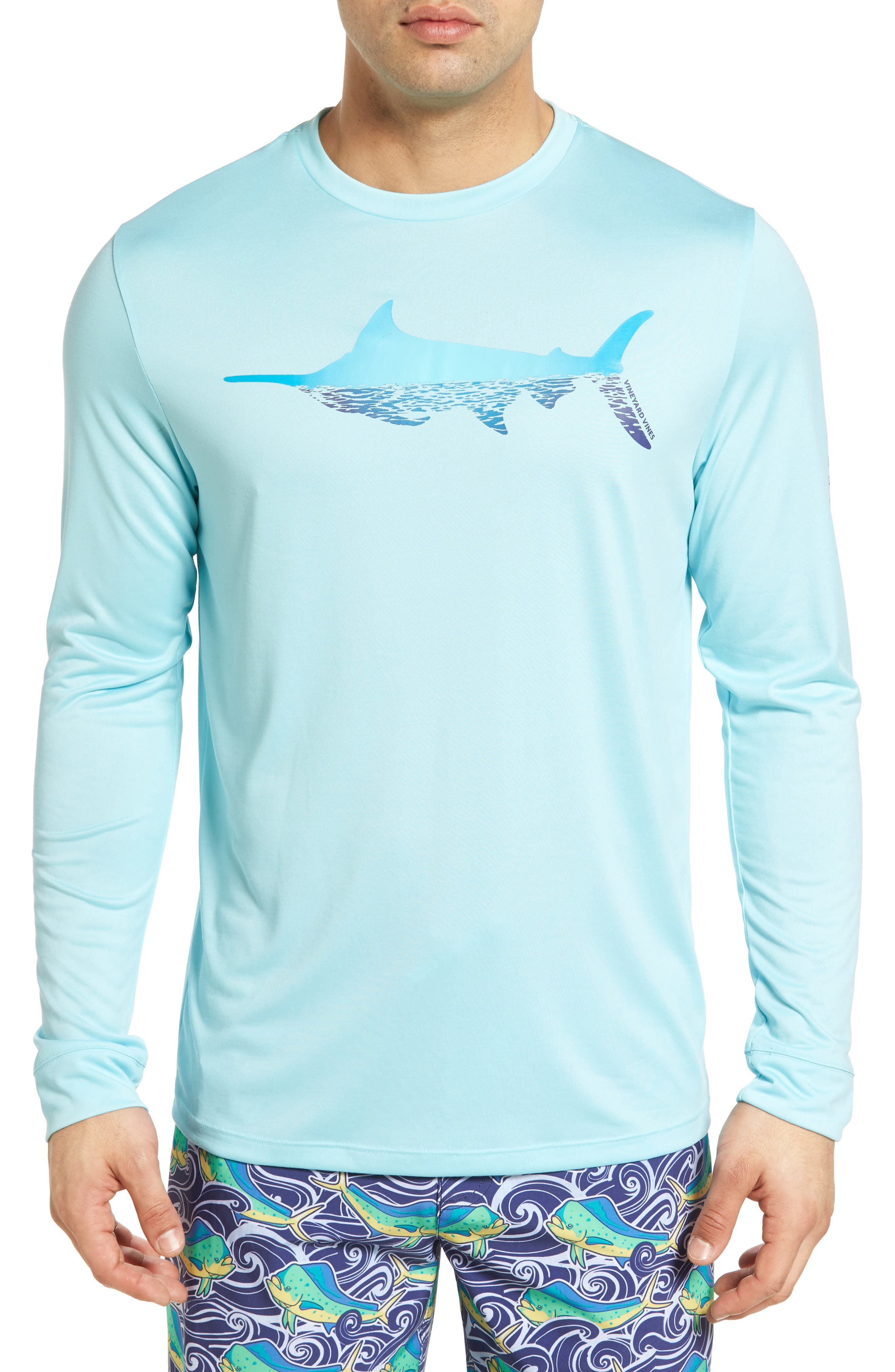 Vineyard Vines Marlin Reflection Performance T-Shirt