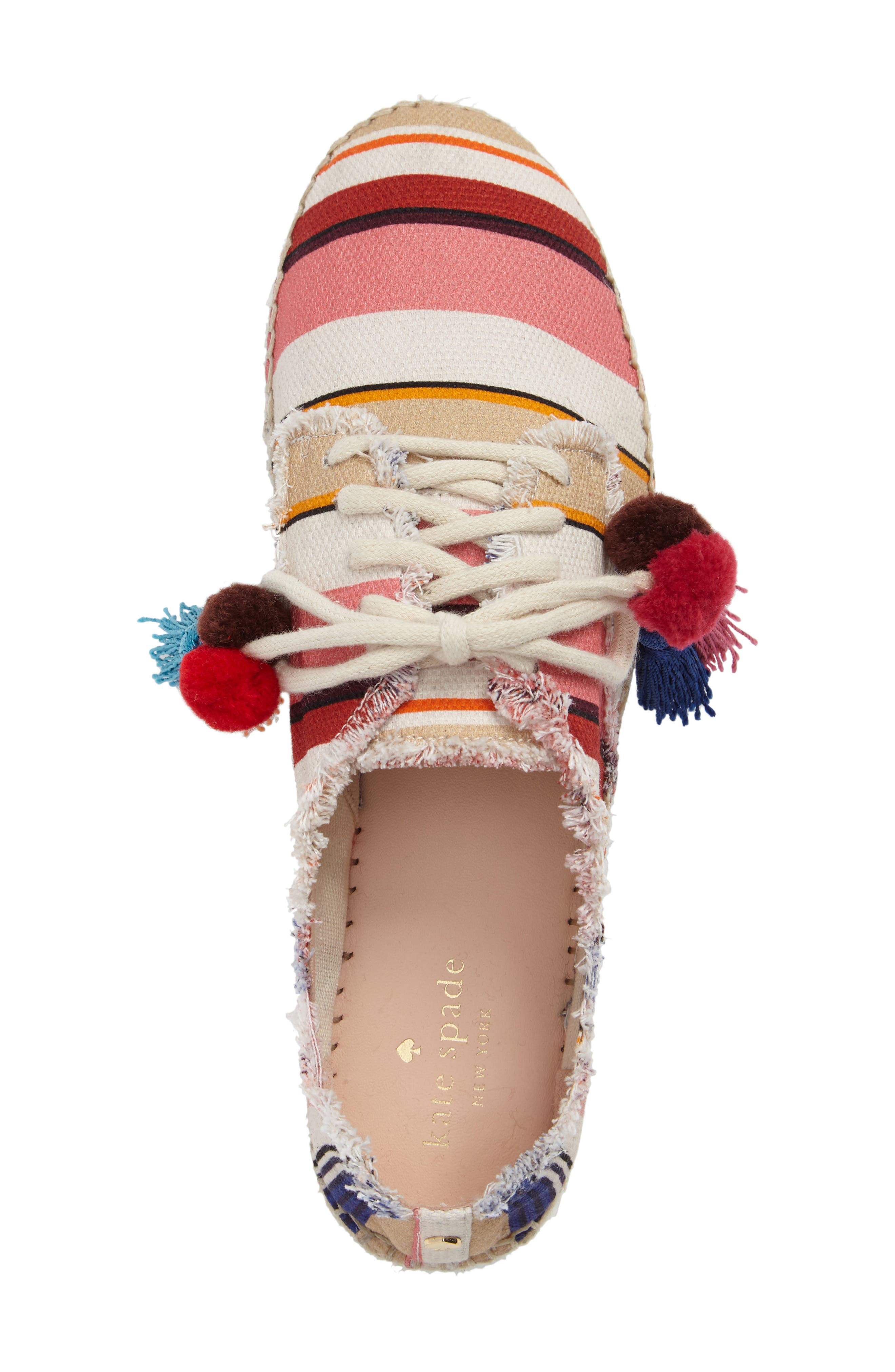 Alternate Image 5  - kate spade new york lane espadrille platform sneaker (Women)