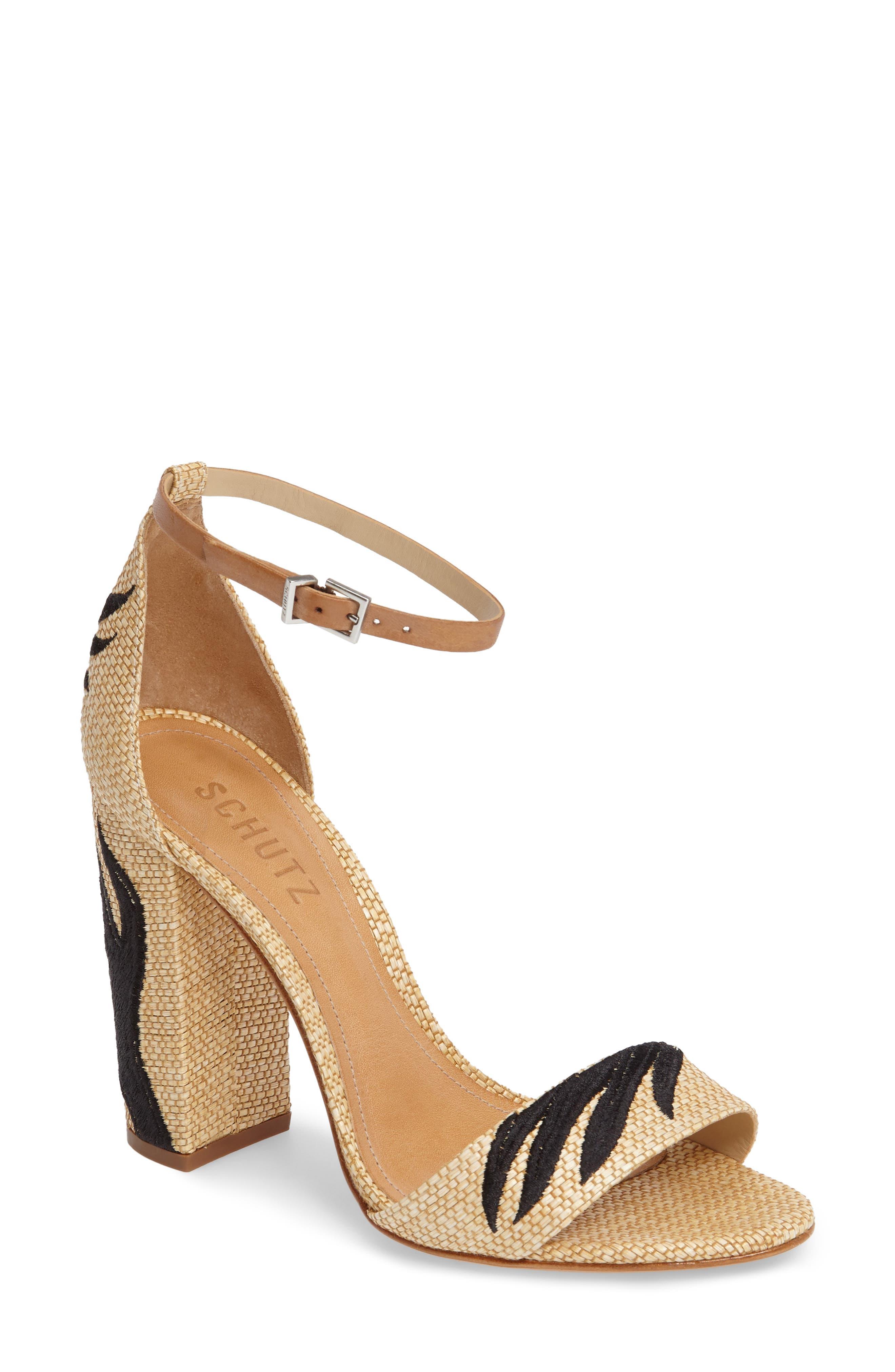 Schutz Carolaine Woven Sandal (Women)