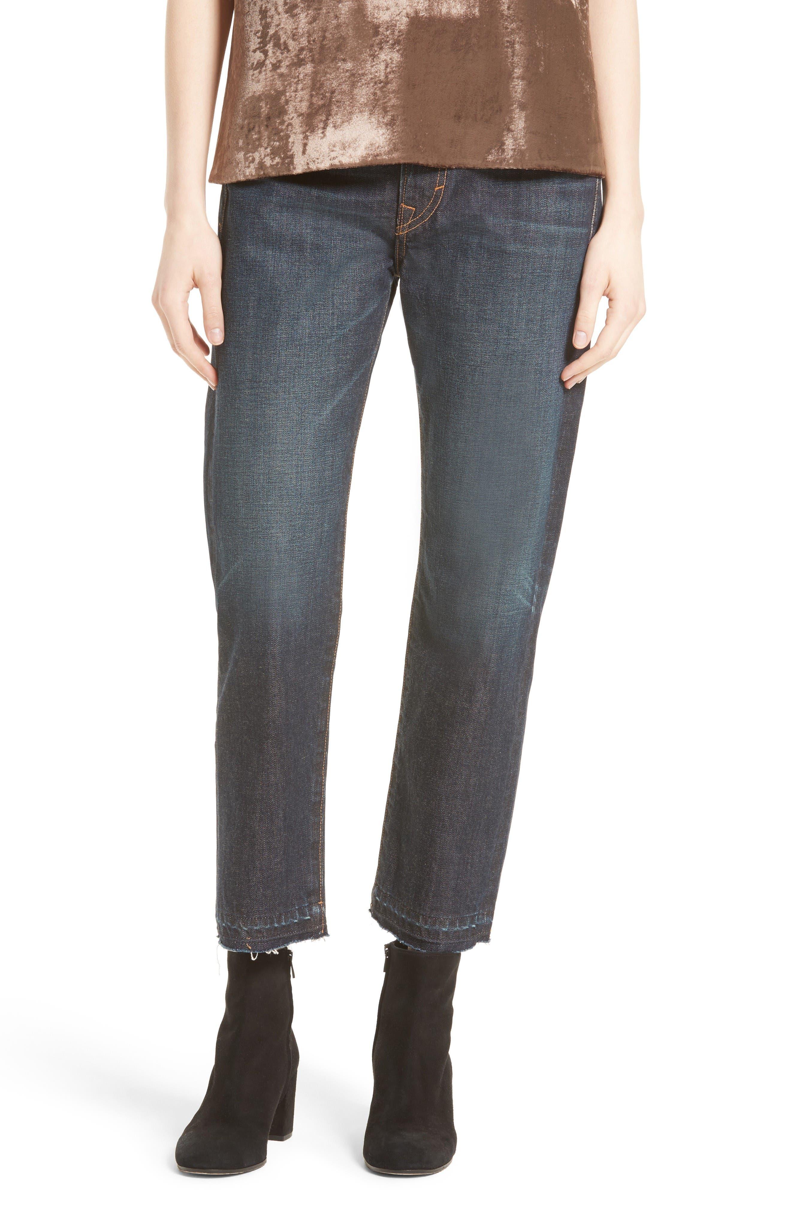 Vince Union Slouch Release Hem Jeans