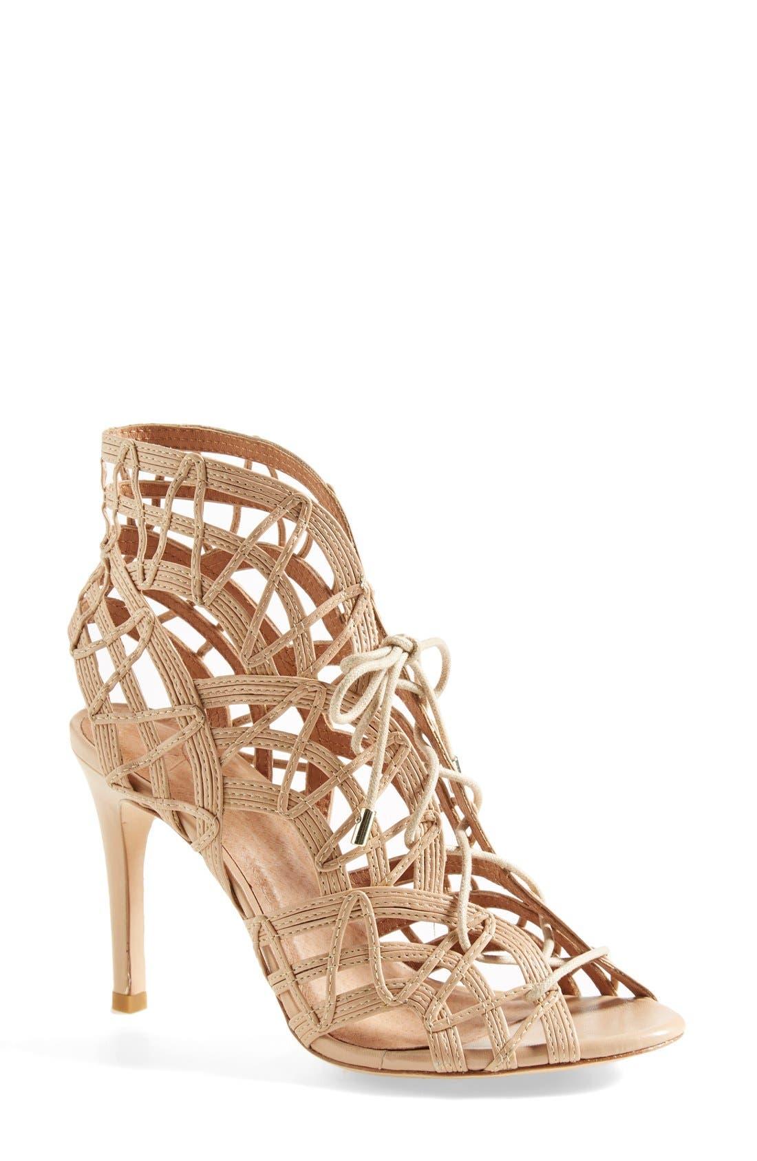 Alternate Image 1 Selected - Joie 'Leah' Lace-Up Sandal (Women)