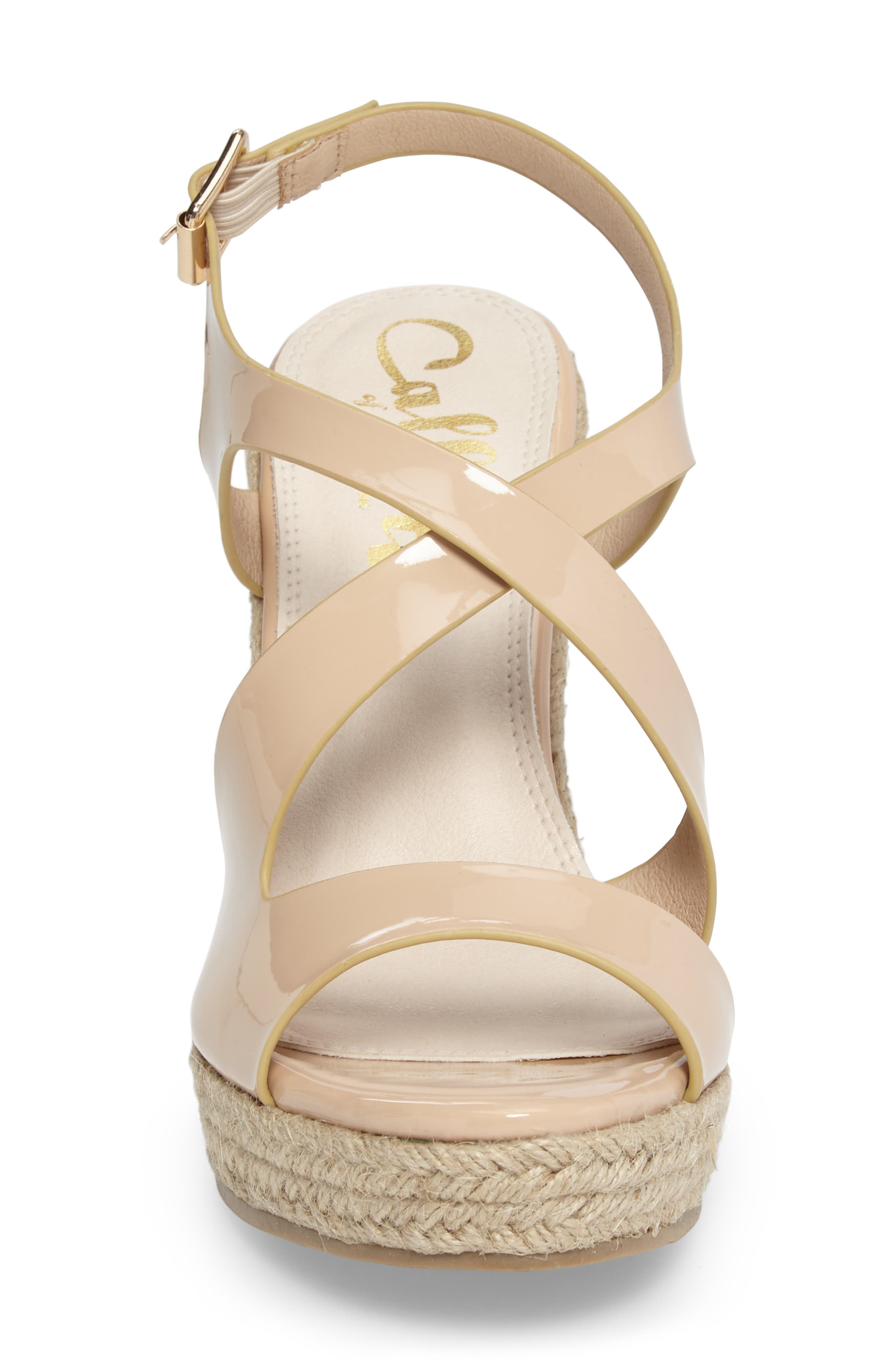 Alternate Image 4  - Callisto Brielle Wedge Sandal (Women)