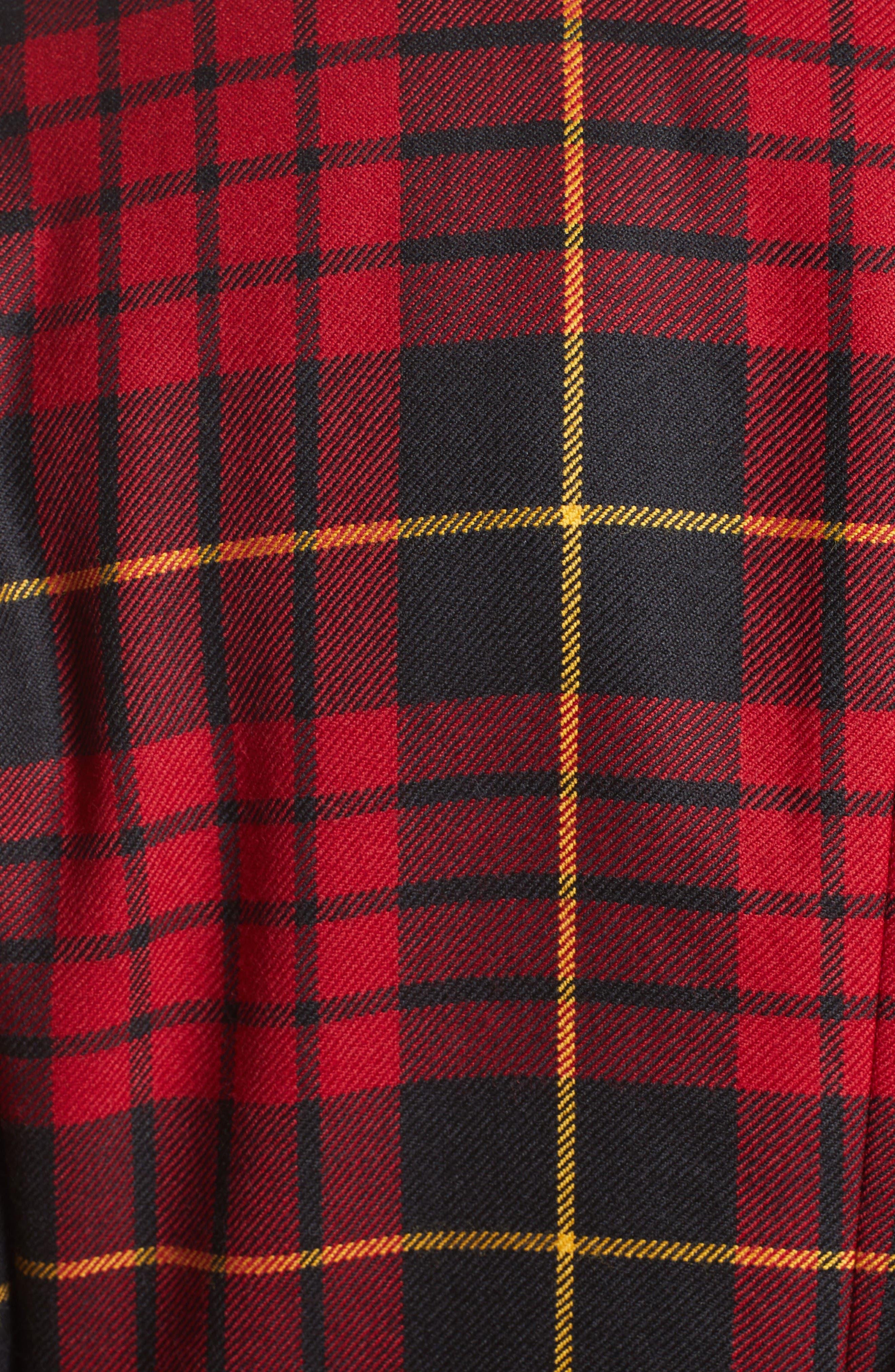 Alternate Image 3  - Comme des Garçons Tartan Plaid Wool Jacket