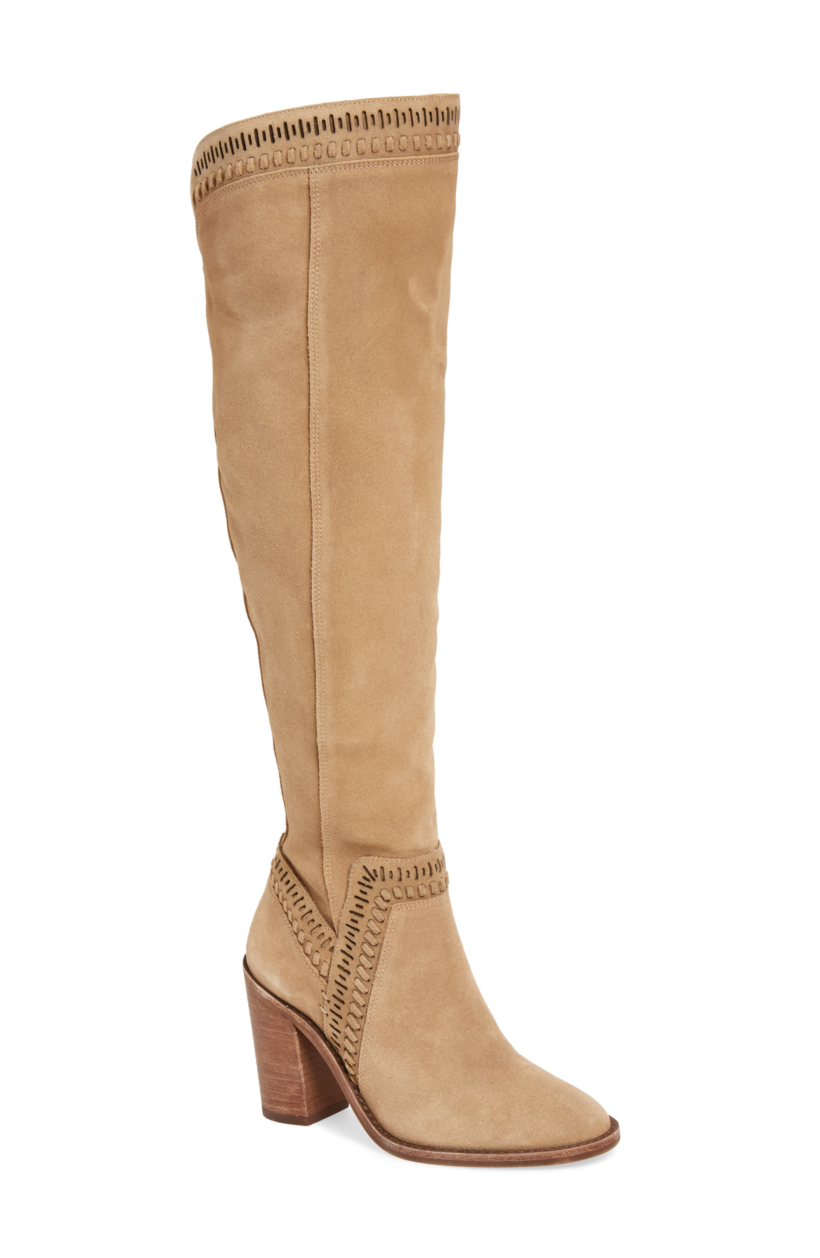 Alternate Image 1 Selected - Vince Camuto Madolee Over the Knee Boot (Women)