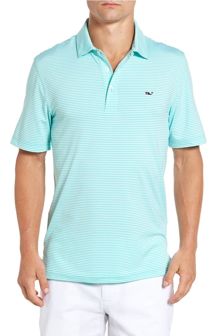 Vineyard Vines Cliff Stretch Performance Golf Polo