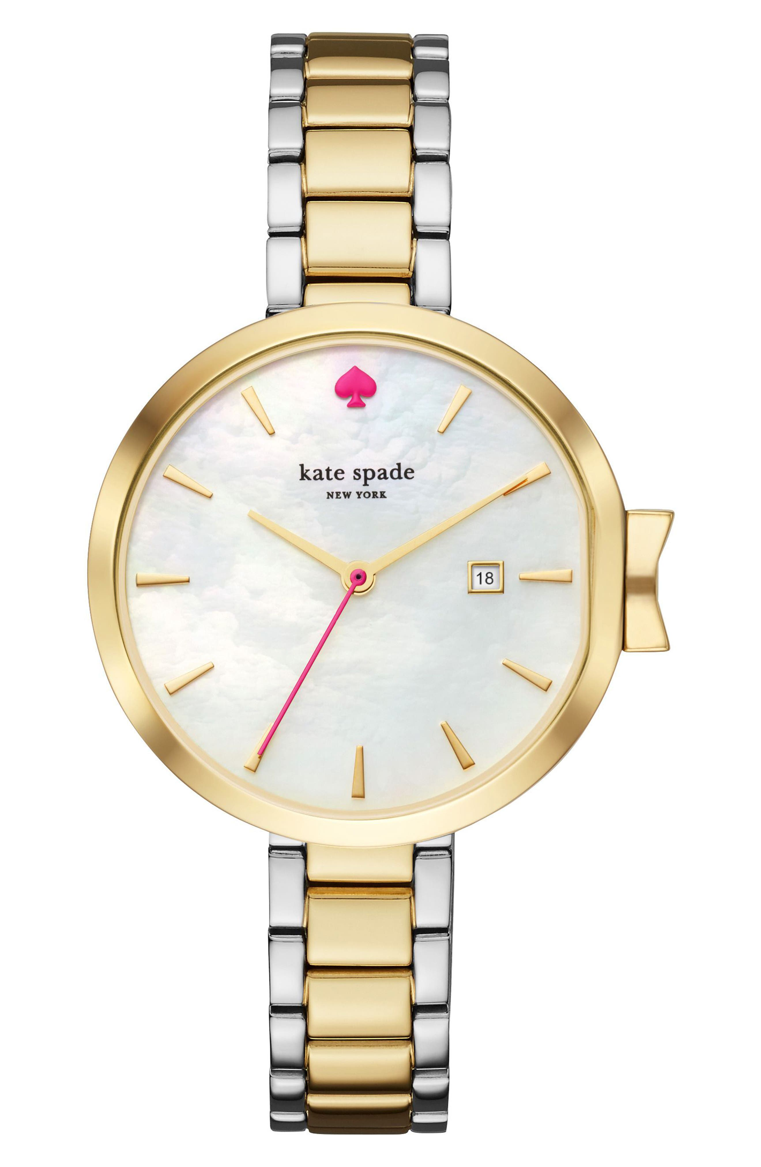 Alternate Image 1 Selected - kate spade new york park row bracelet watch, 34mm