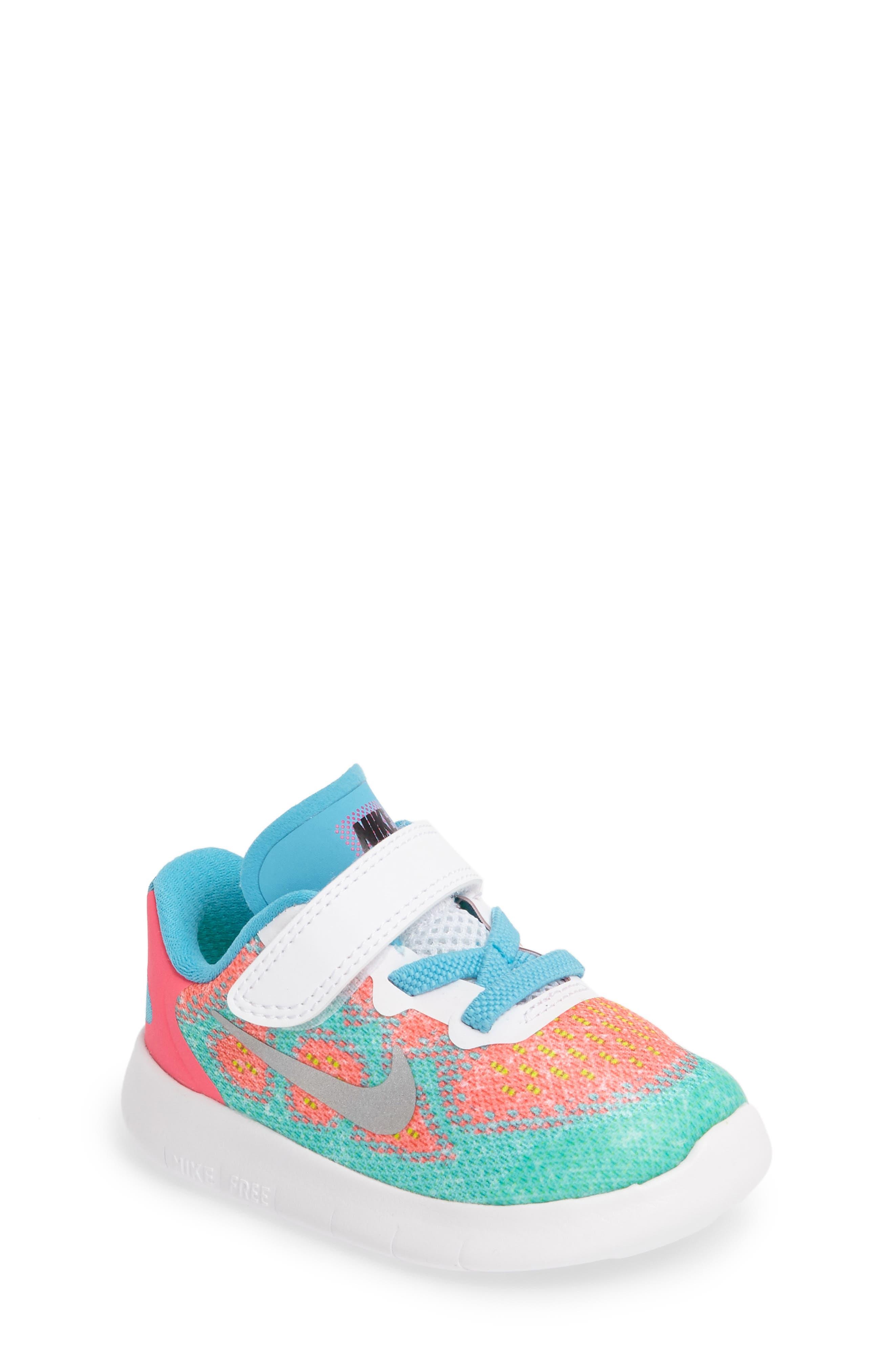 Nike Free Run 2017 Sneaker (Baby, Walker, Toddler & Little Kid)