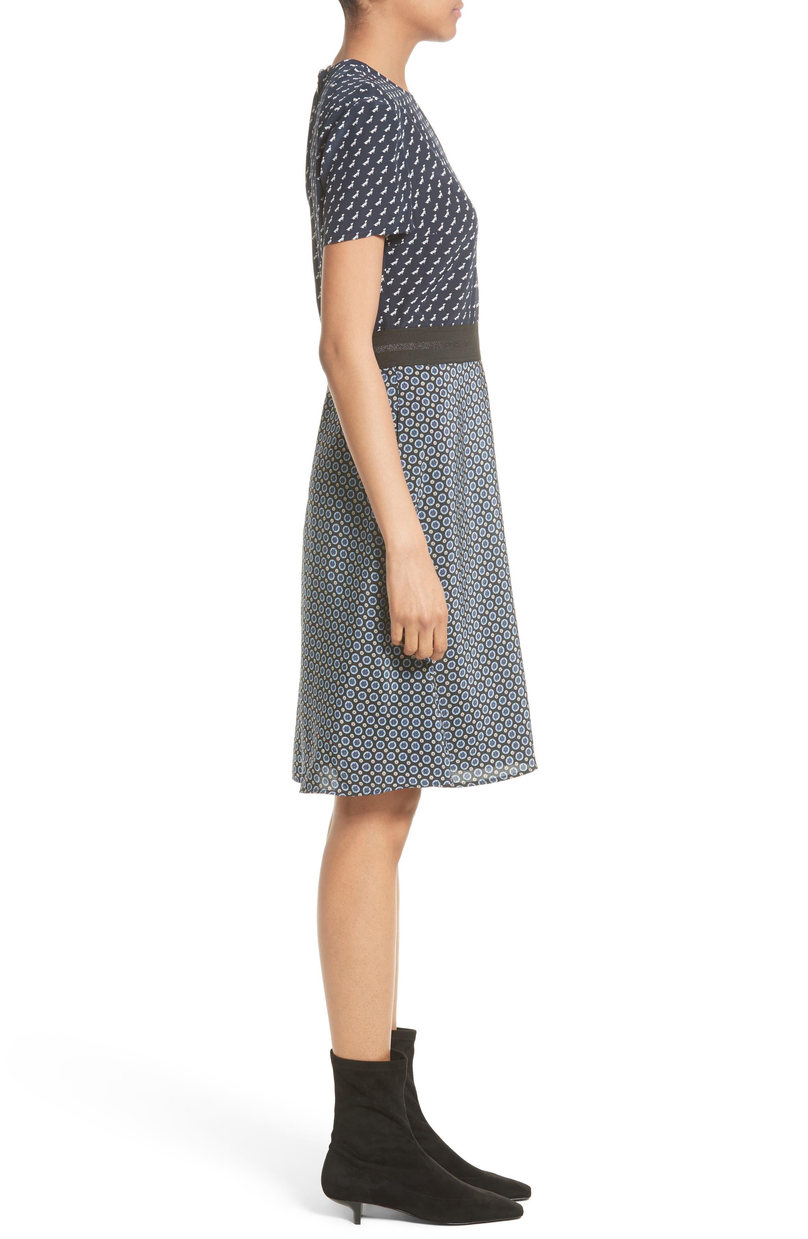 Alternate Image 5  - Stella McCartney Windsor Print Silk Dress