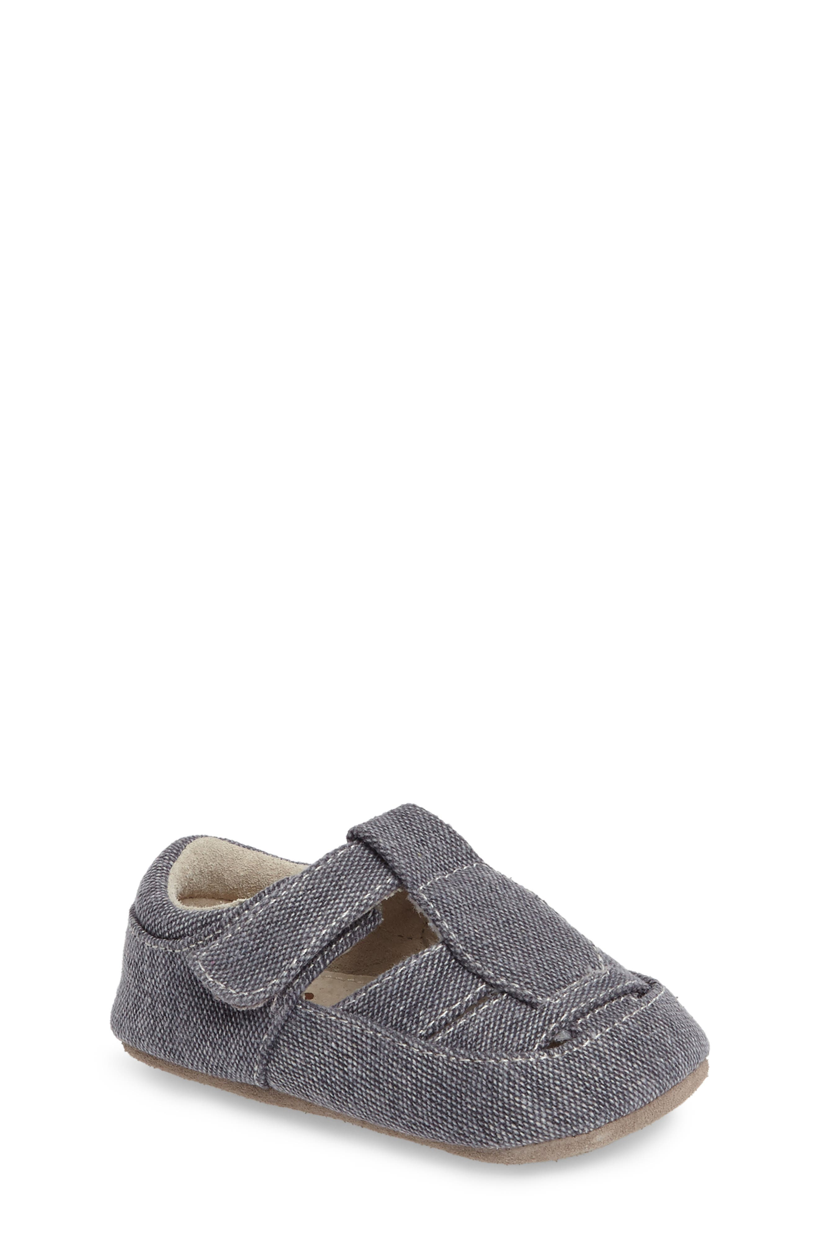 See Kai Run Jude Fisherman Crib Sandal (Baby)