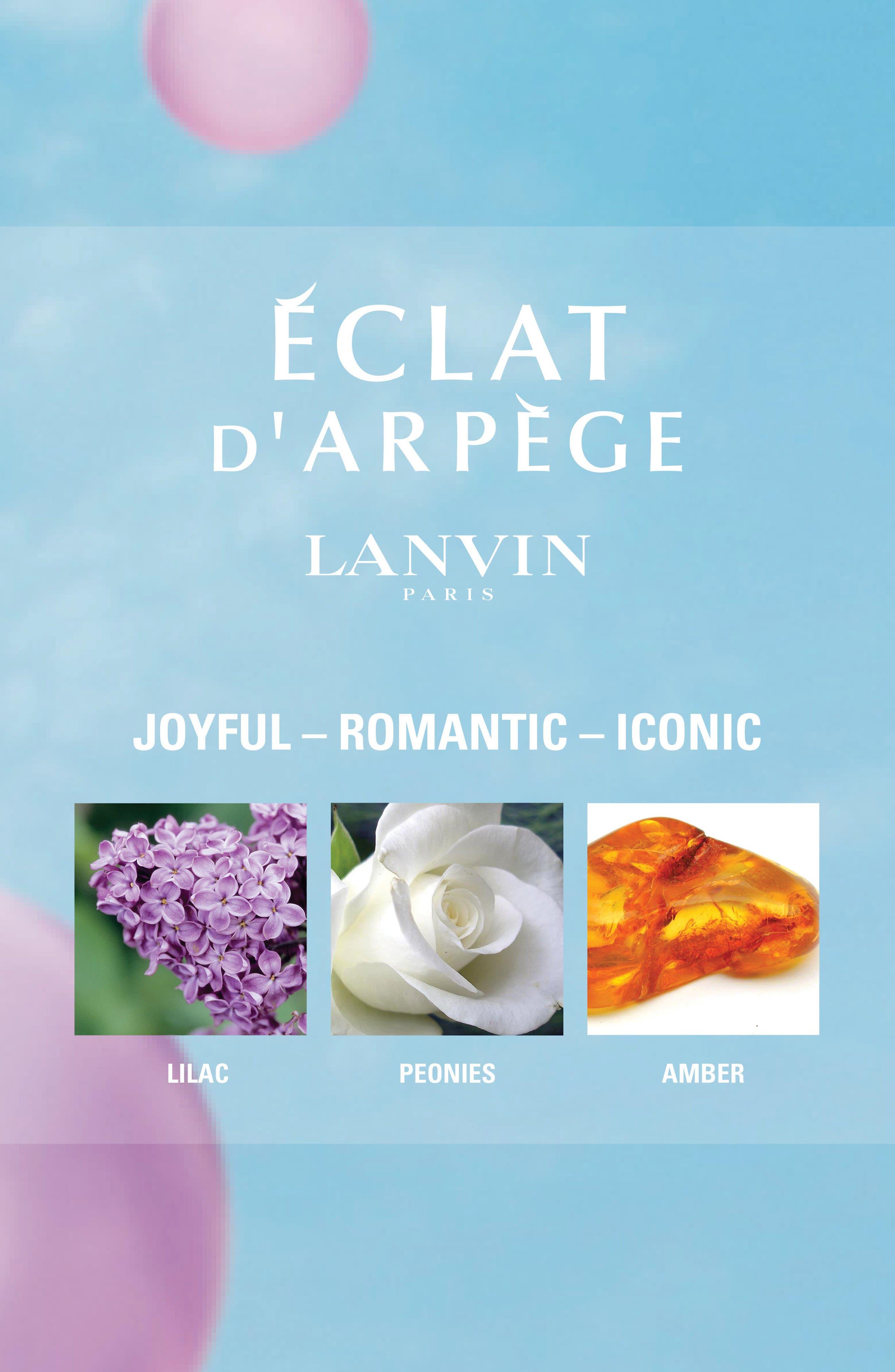 Alternate Image 2  - Lanvin Éclat d'Arpège Eau de Parfum Spray