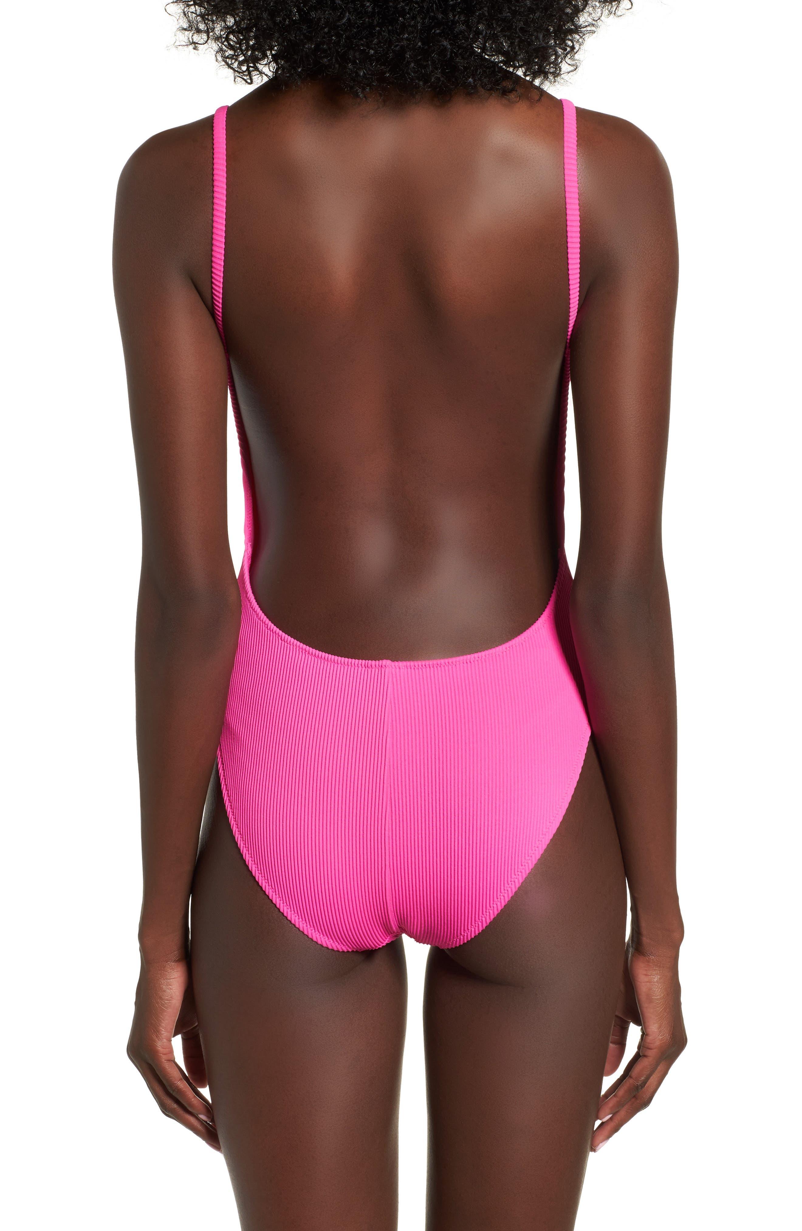 Alternate Image 2  - Topshop Pamela One-Piece Swimsuit