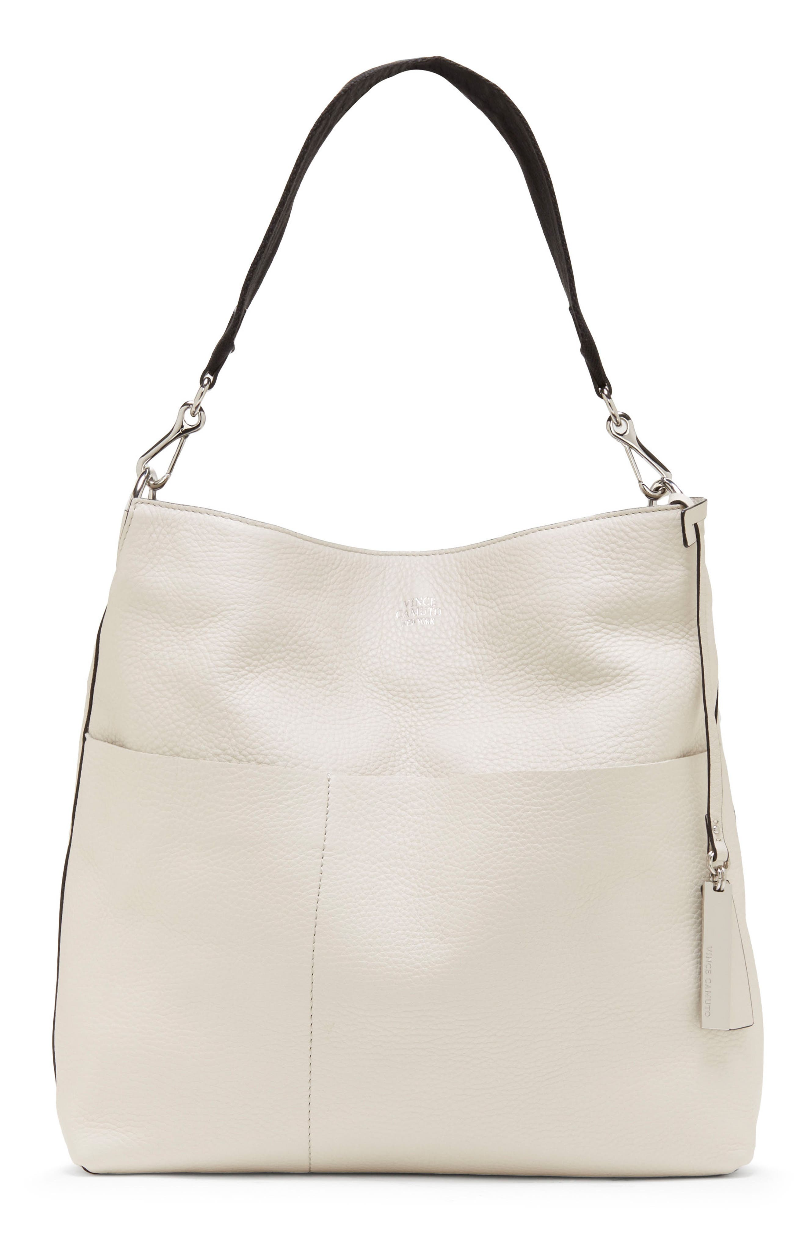 Vince Camuto Risa Leather Hobo