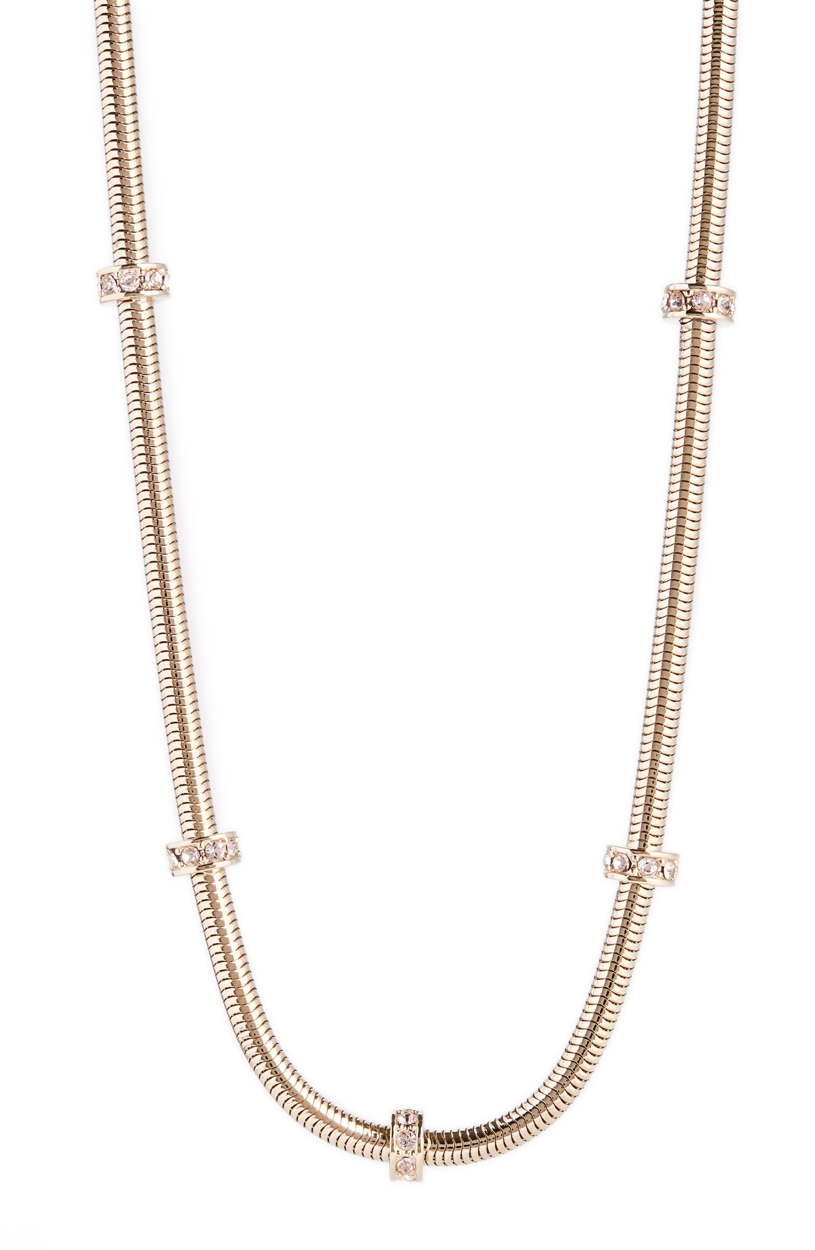 St. John Collection Swarovski Crystal Necklace