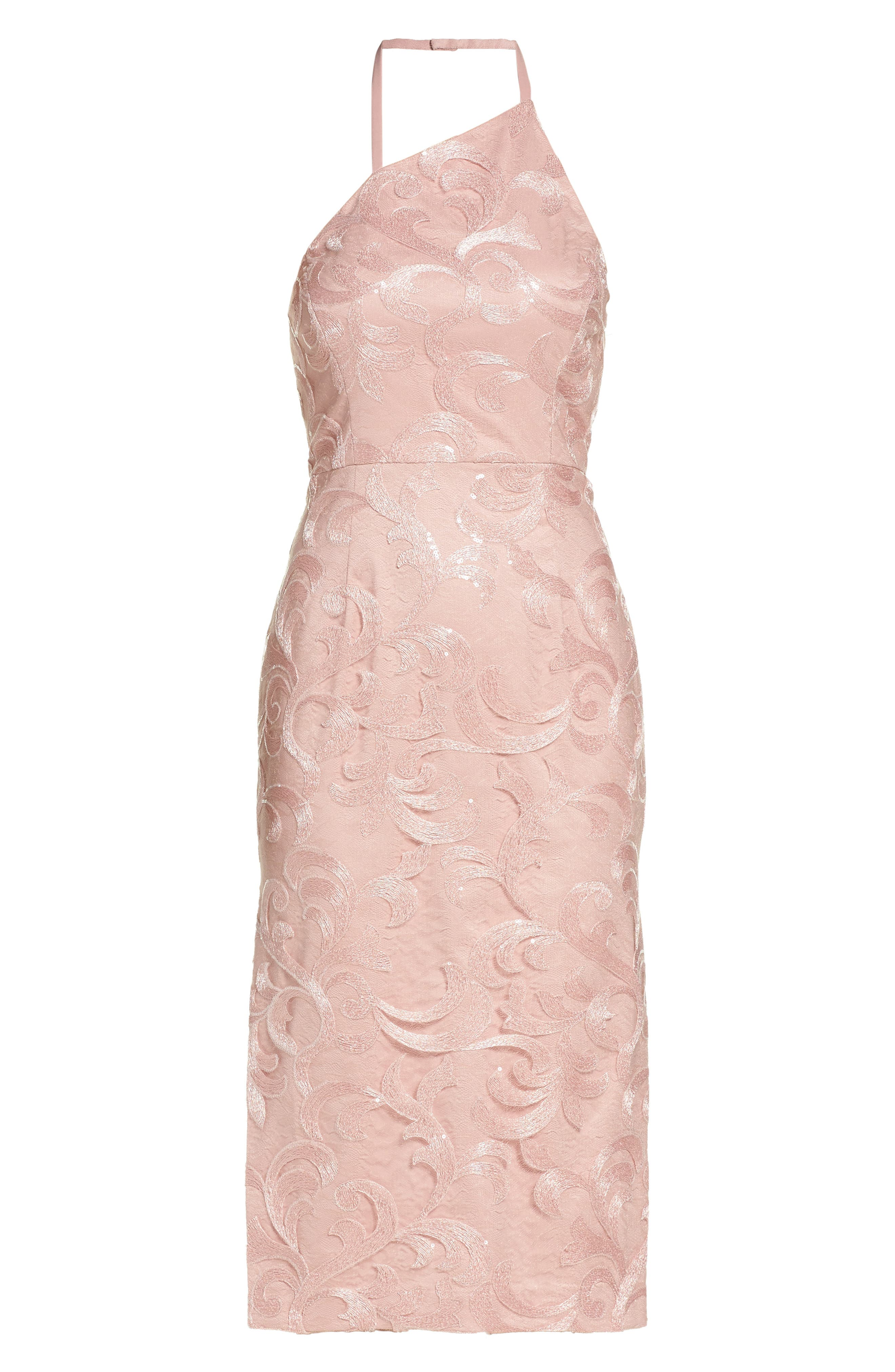 Alternate Image 6  - Vera Wang Asymmetrical Midi Dress
