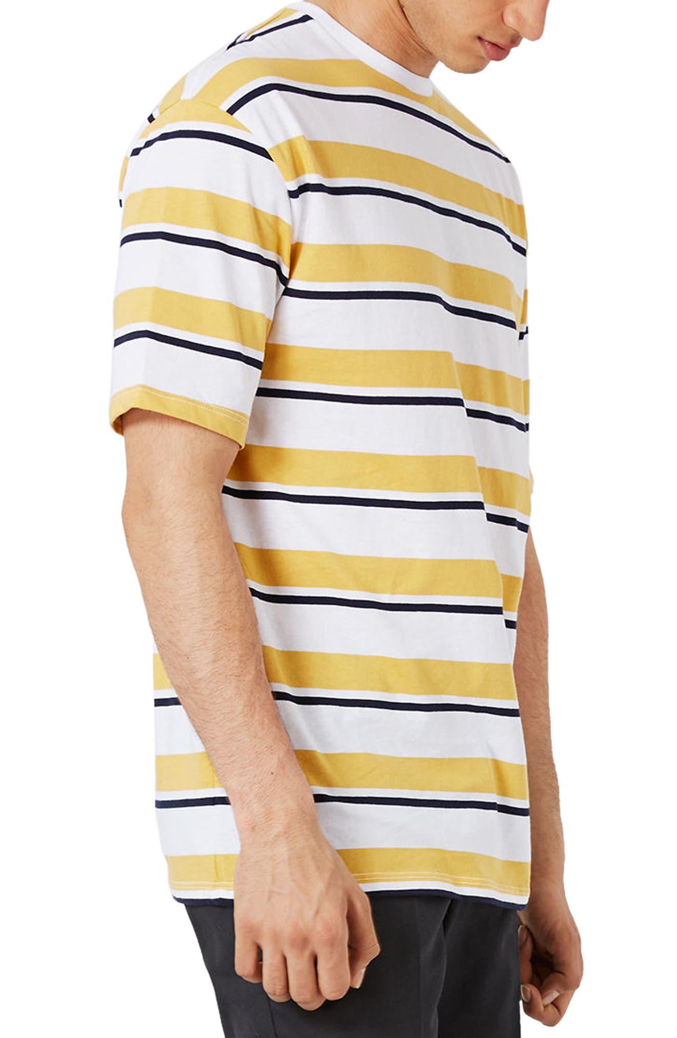 Topman Oversize Stripe T-Shirt