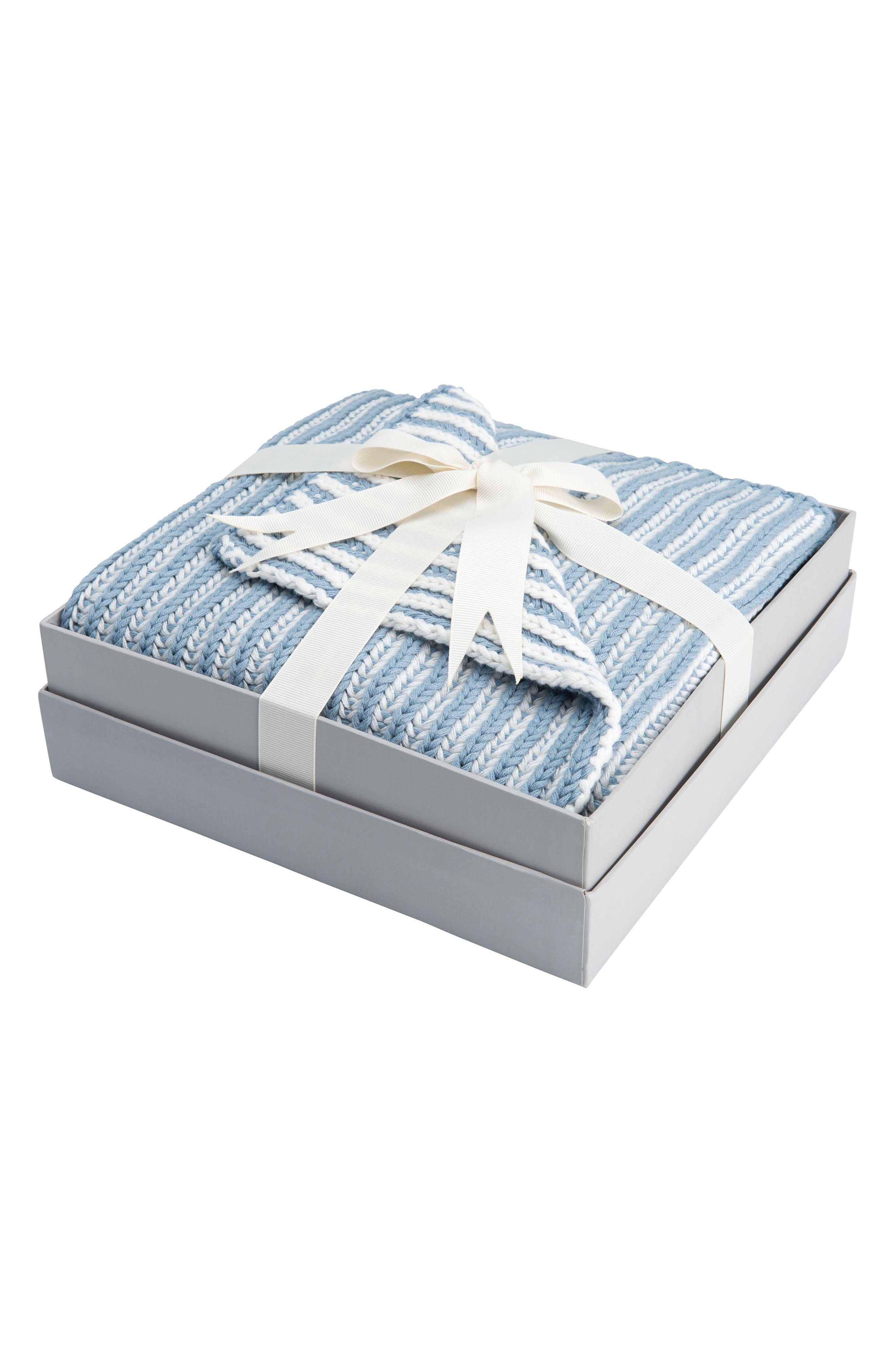 Elegant Baby Twisted Yarn Blanket