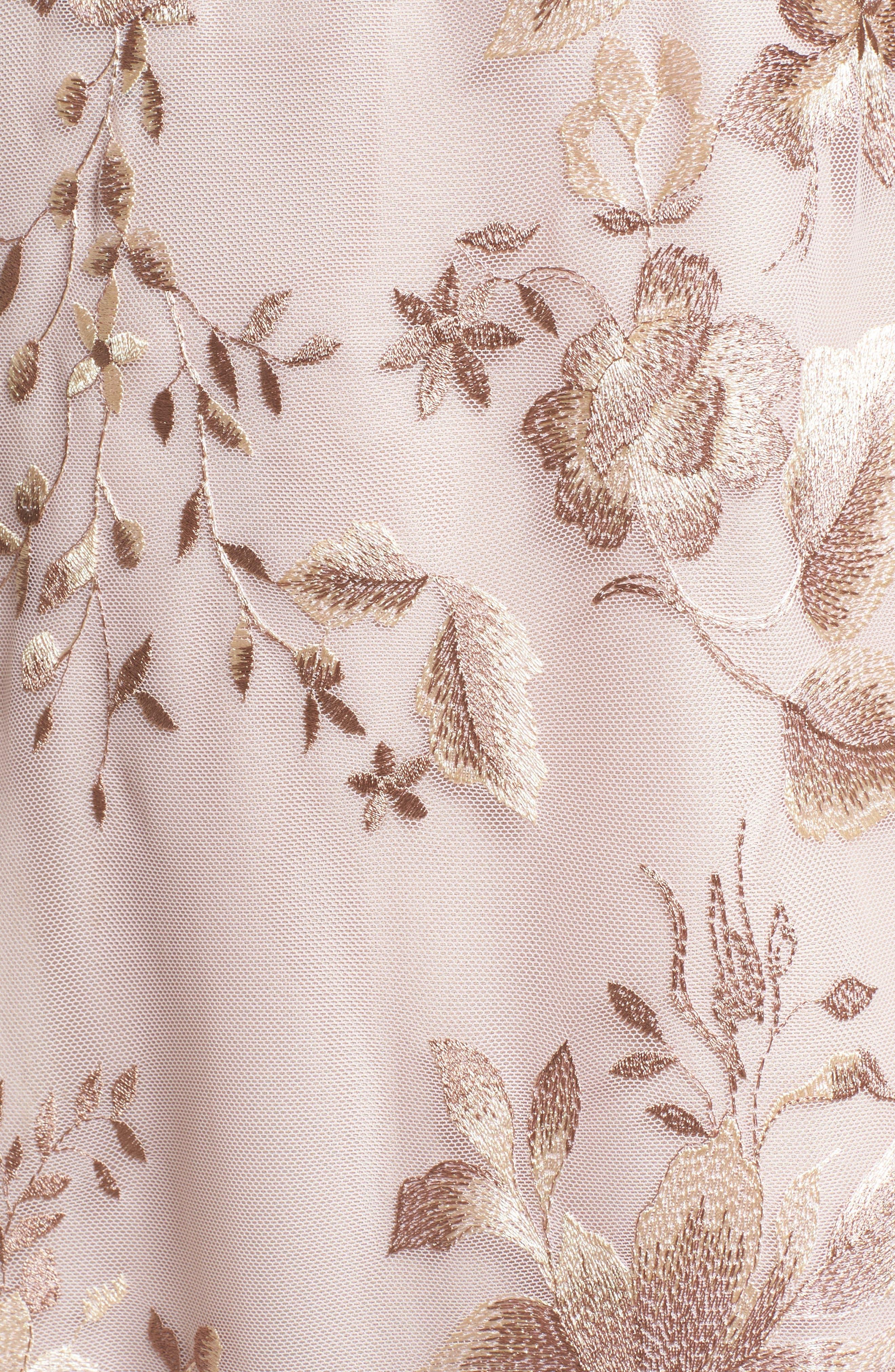 Alternate Image 5  - Free People Rosalie Embroidered Minidress
