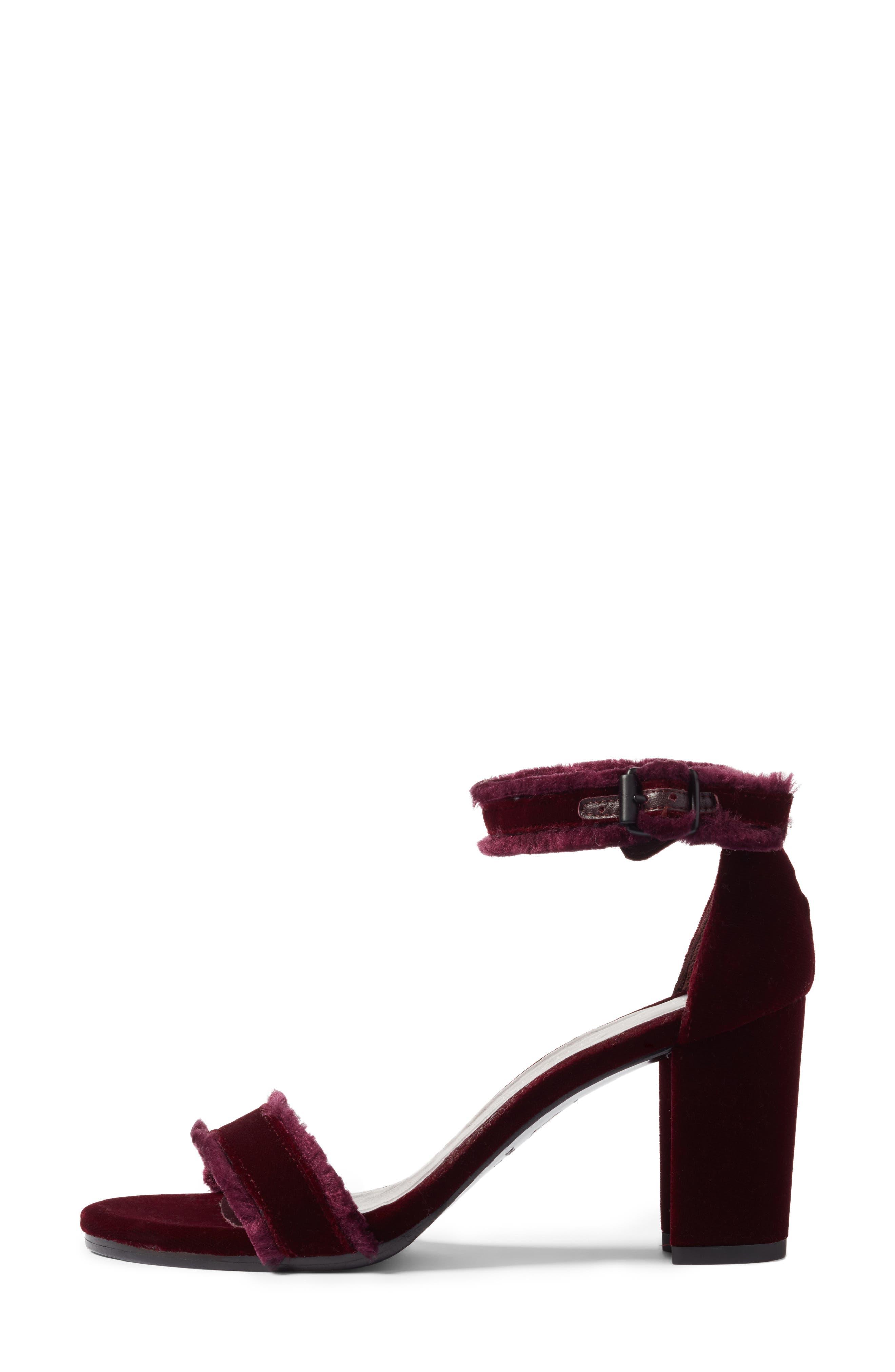 Alternate Image 3  - Stuart Weitzman Frayed Ankle Strap Sandal (Women)