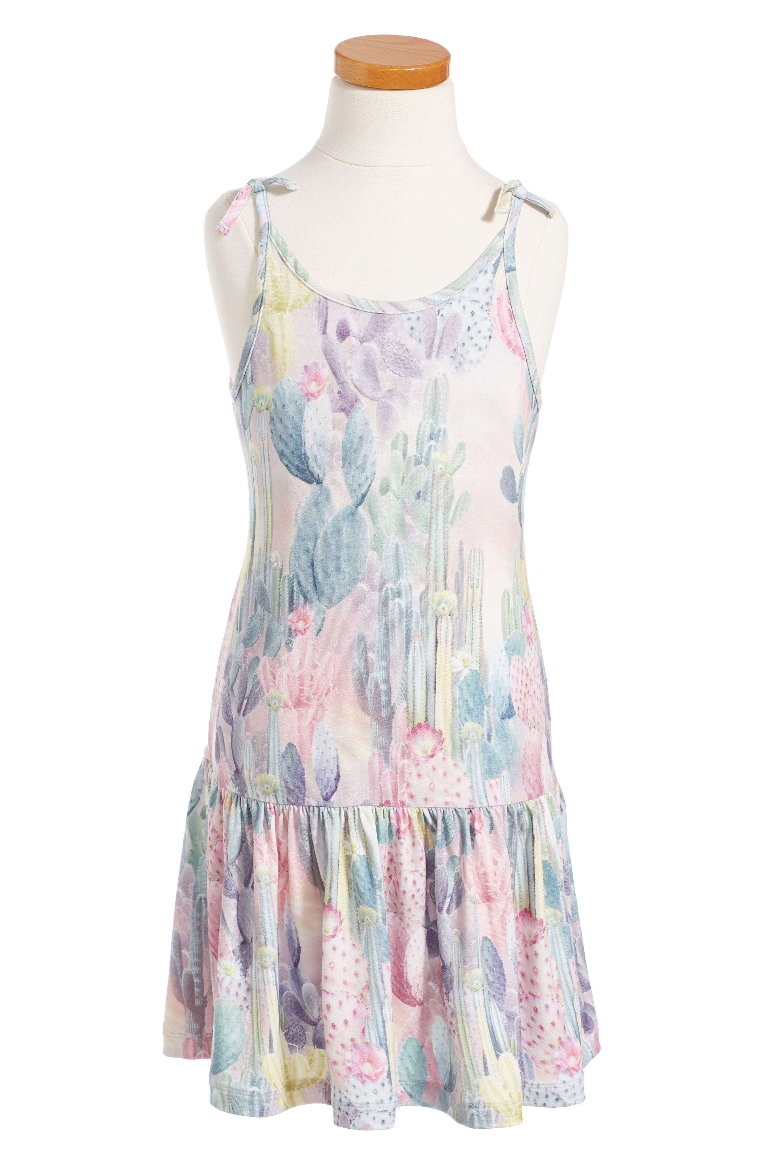 Molo Camilla Cacti Dress (Toddler Girls, Little Girls & Big Girls)