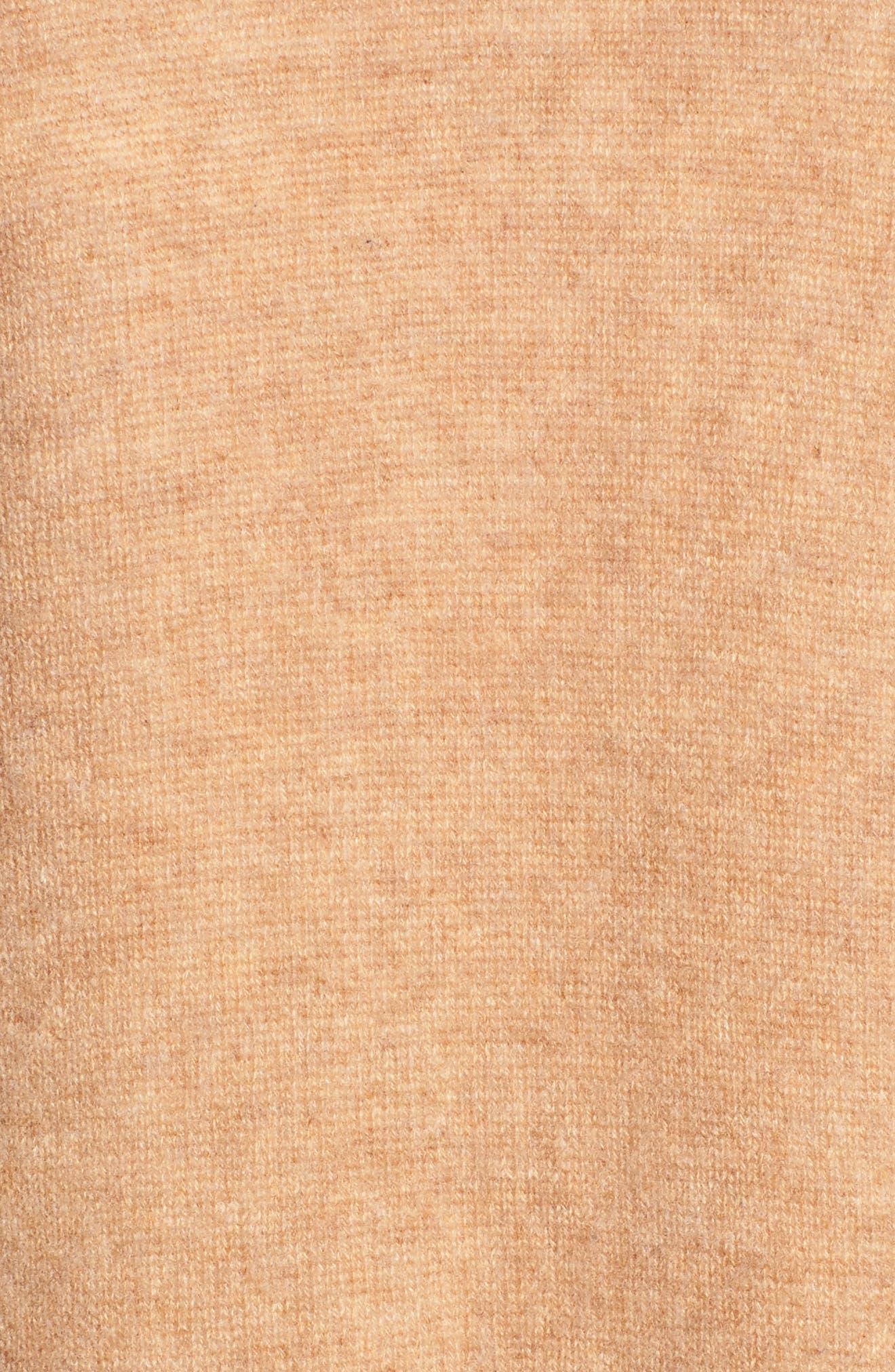 Alternate Image 6  - Halogen® Waterfall Drape Front Cashmere Vest