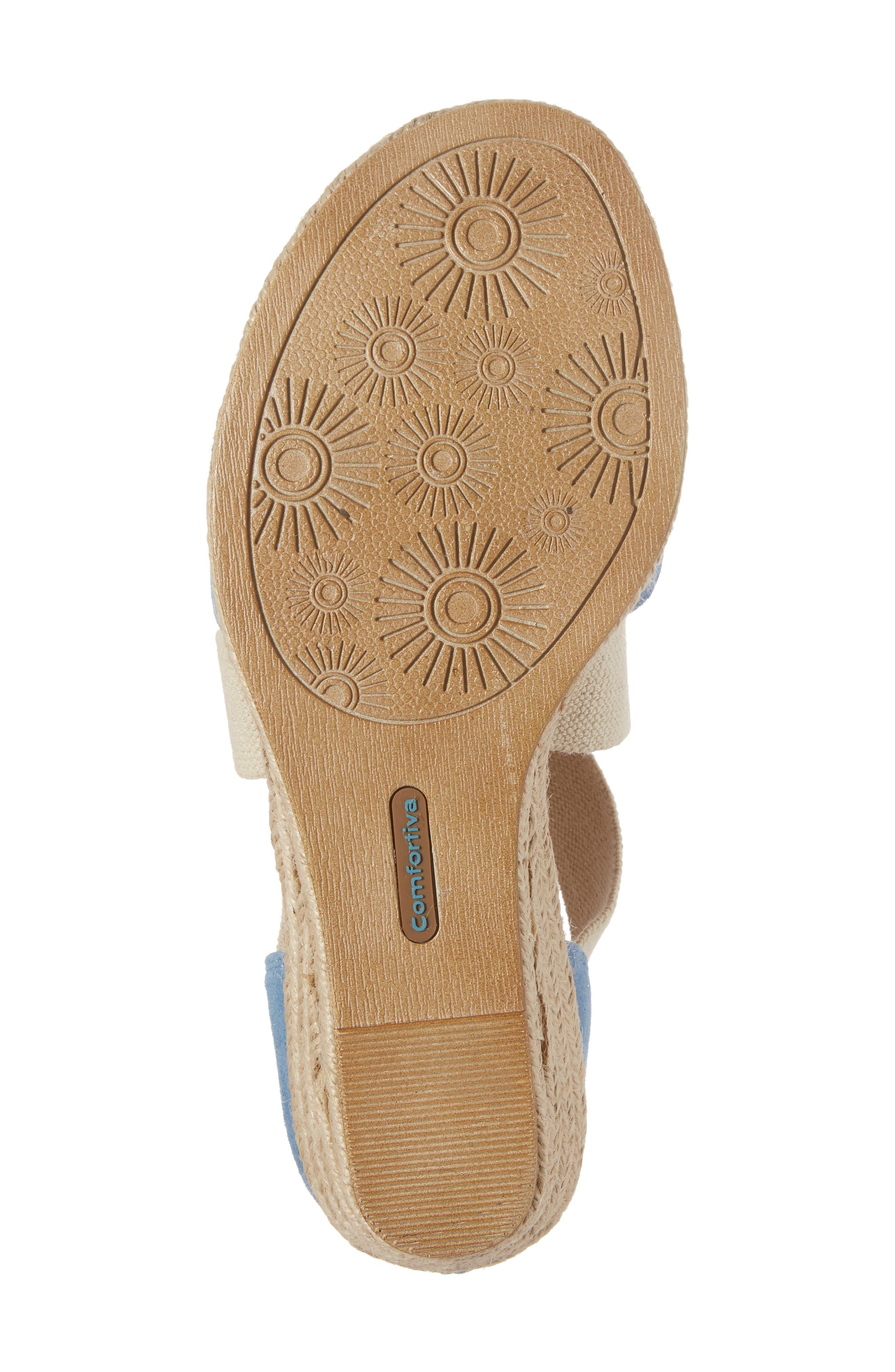 Alternate Image 6  - Comfortiva Brye Espadrille Sandal (Women)