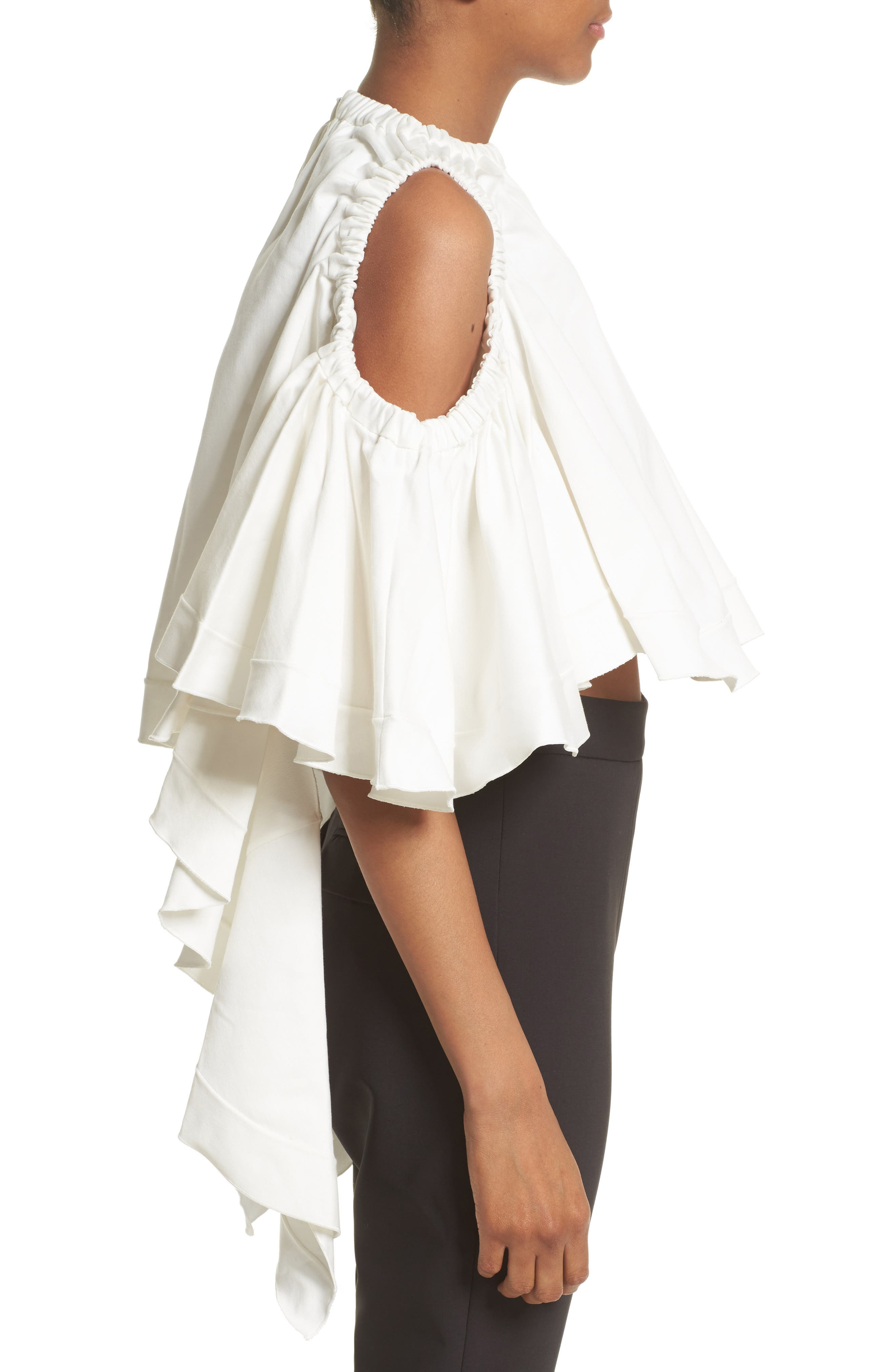 Alternate Image 5  - ELLERY Baby Cold Shoulder Top