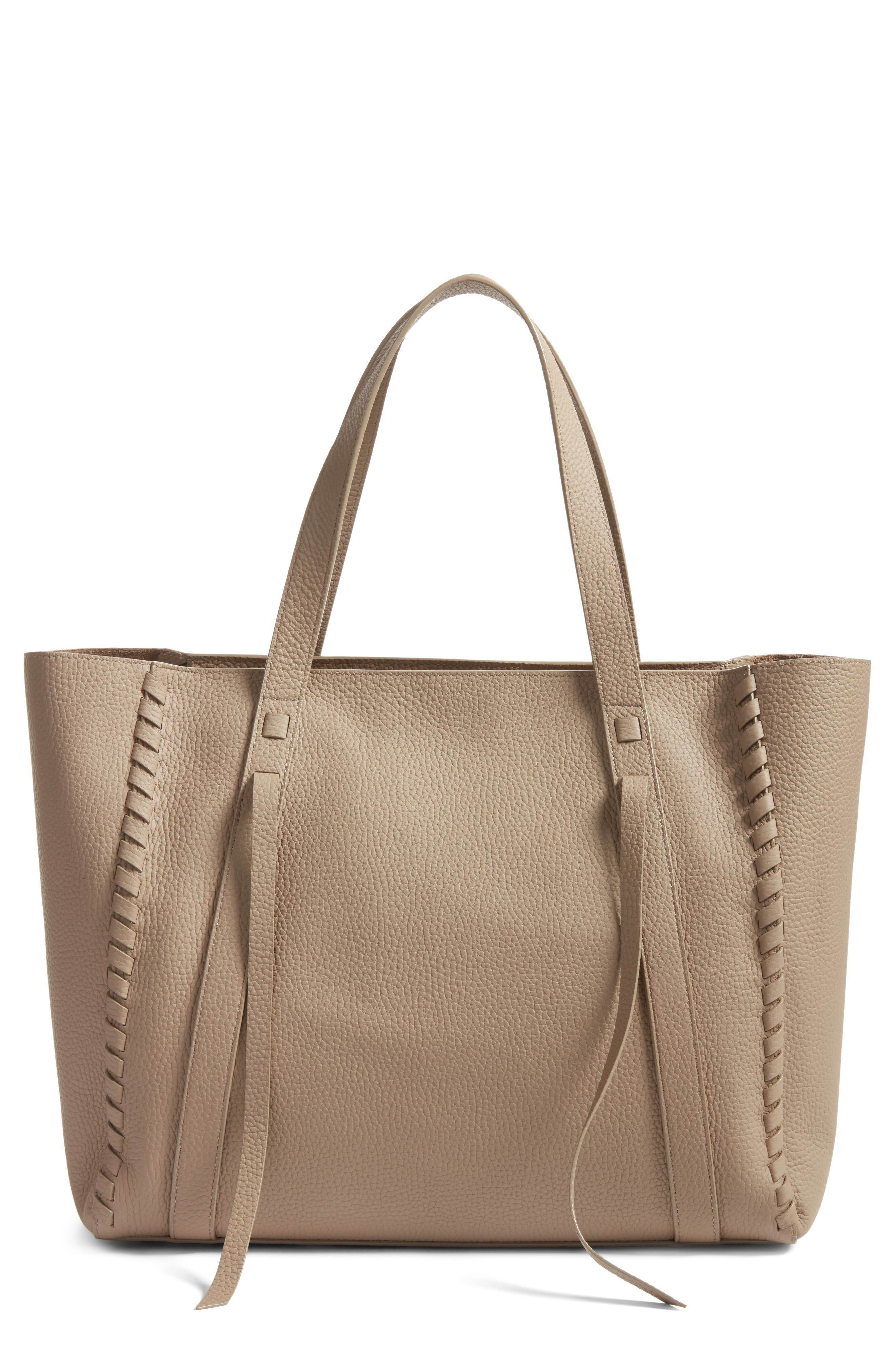 Alternate Image 1 Selected - ALLSAINTS Raye Leather Tote (Nordstrom Exclusive)