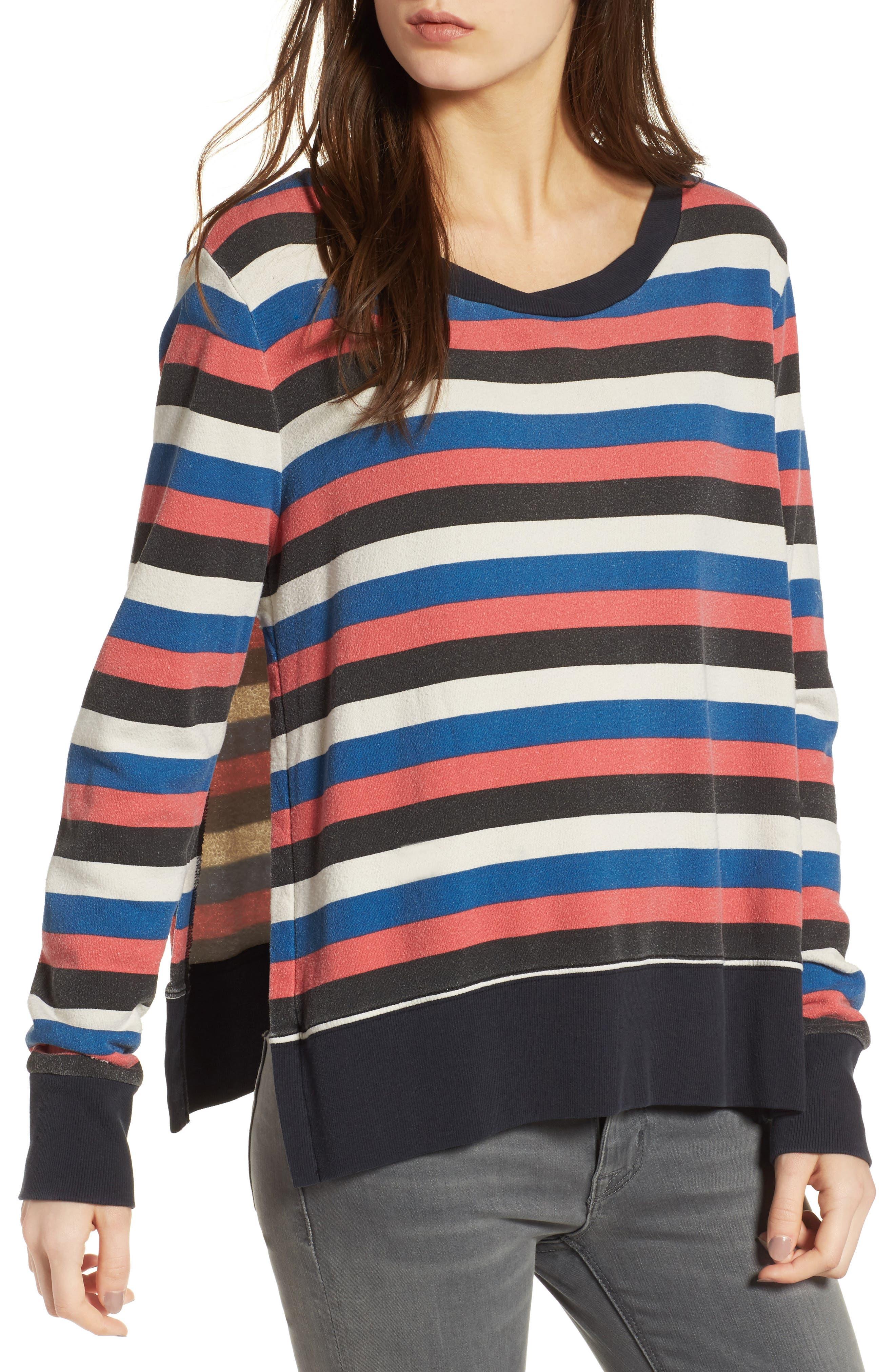 Pam & Gela Stripe Sweatshirt