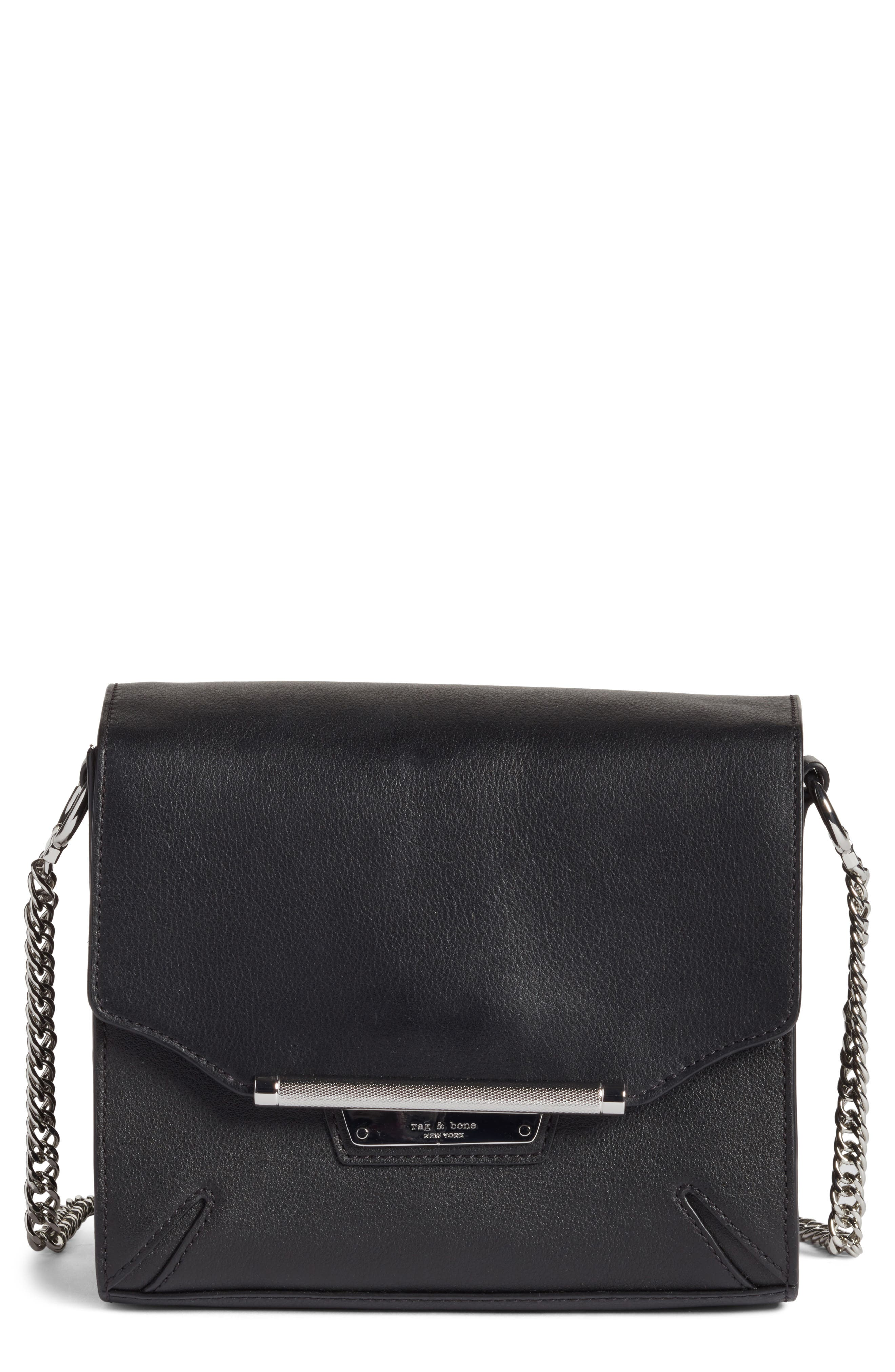 rag & bone Moto Leather Crossbody Bag