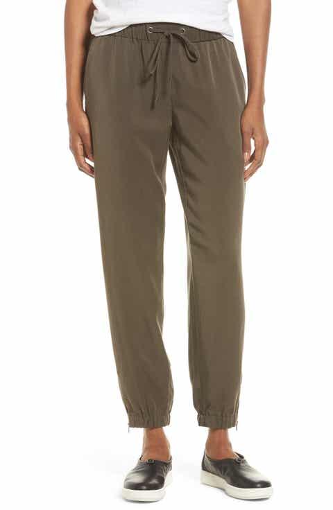 Eileen Fisher Tencel® Drawstring Ankle Pants