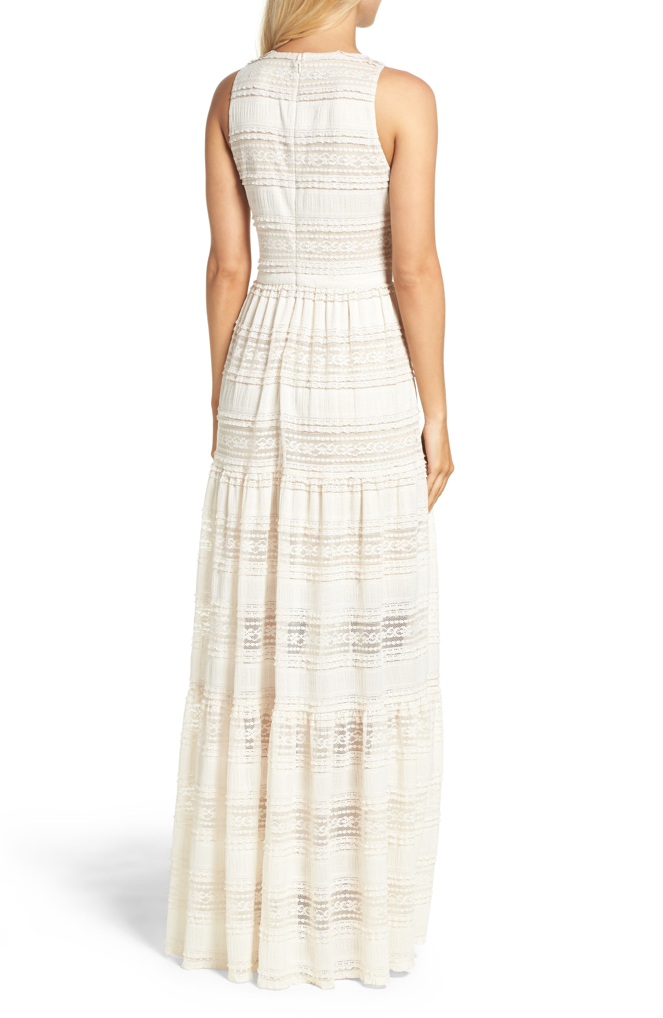 Alternate Image 3  - Eliza J Maxi Dress (Regular & Petite)