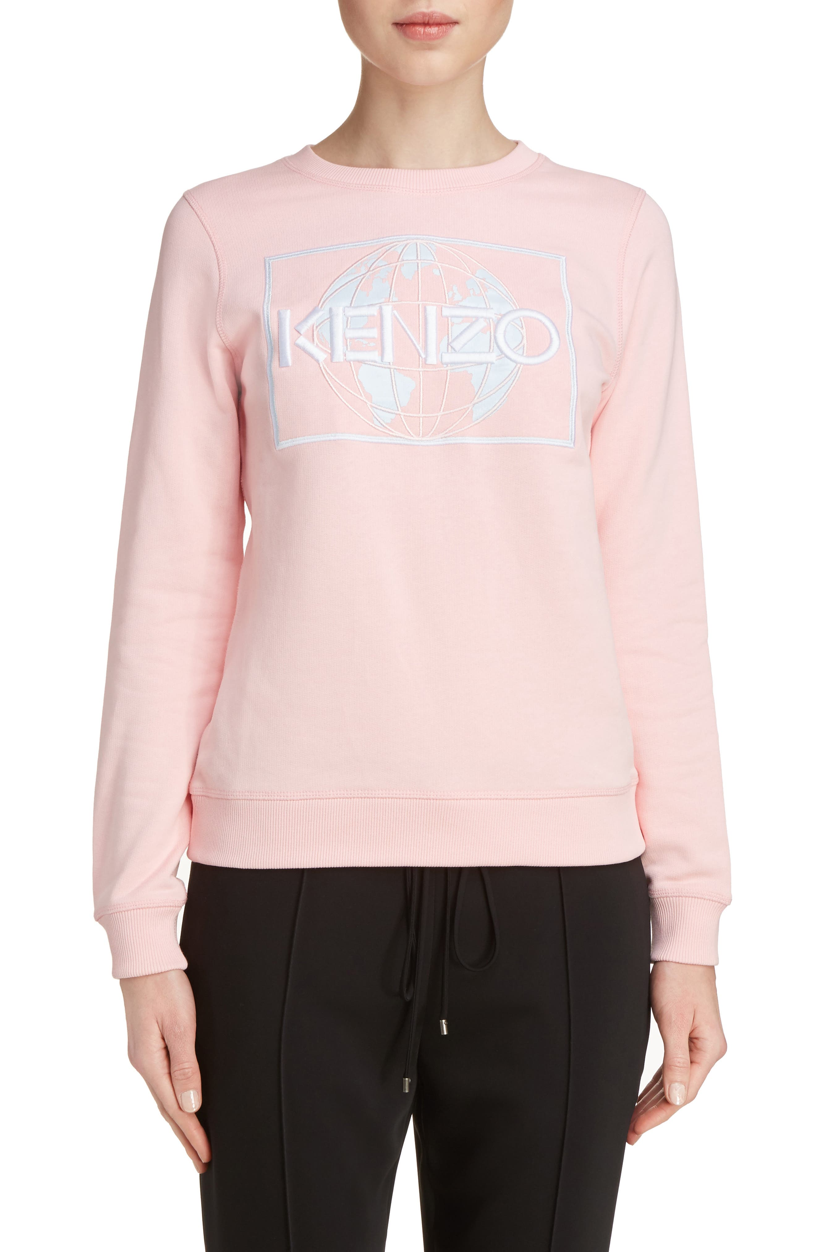 KENZO Embroidered Cotton Sweatshirt