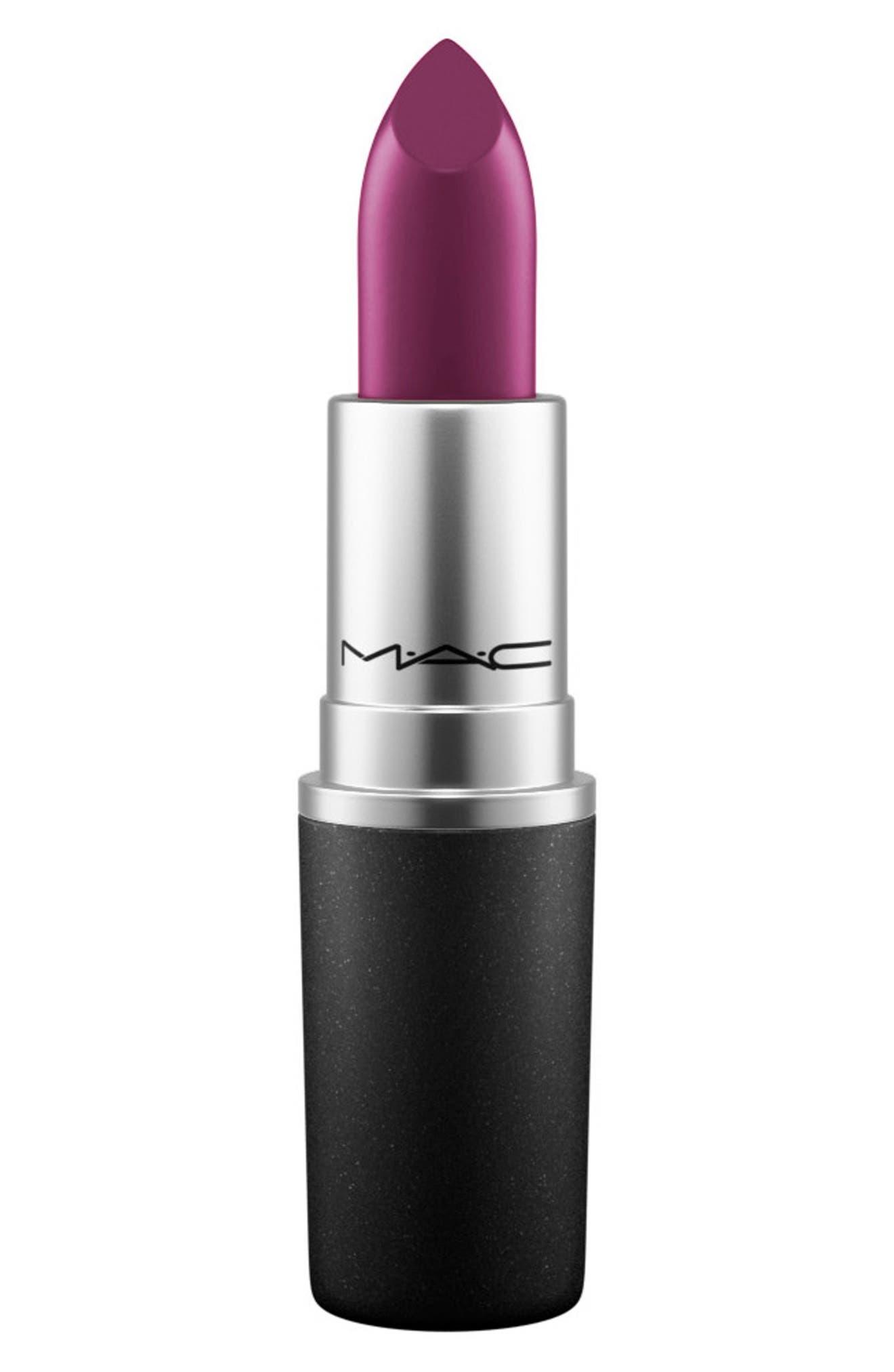 MAC Plum Lipstick