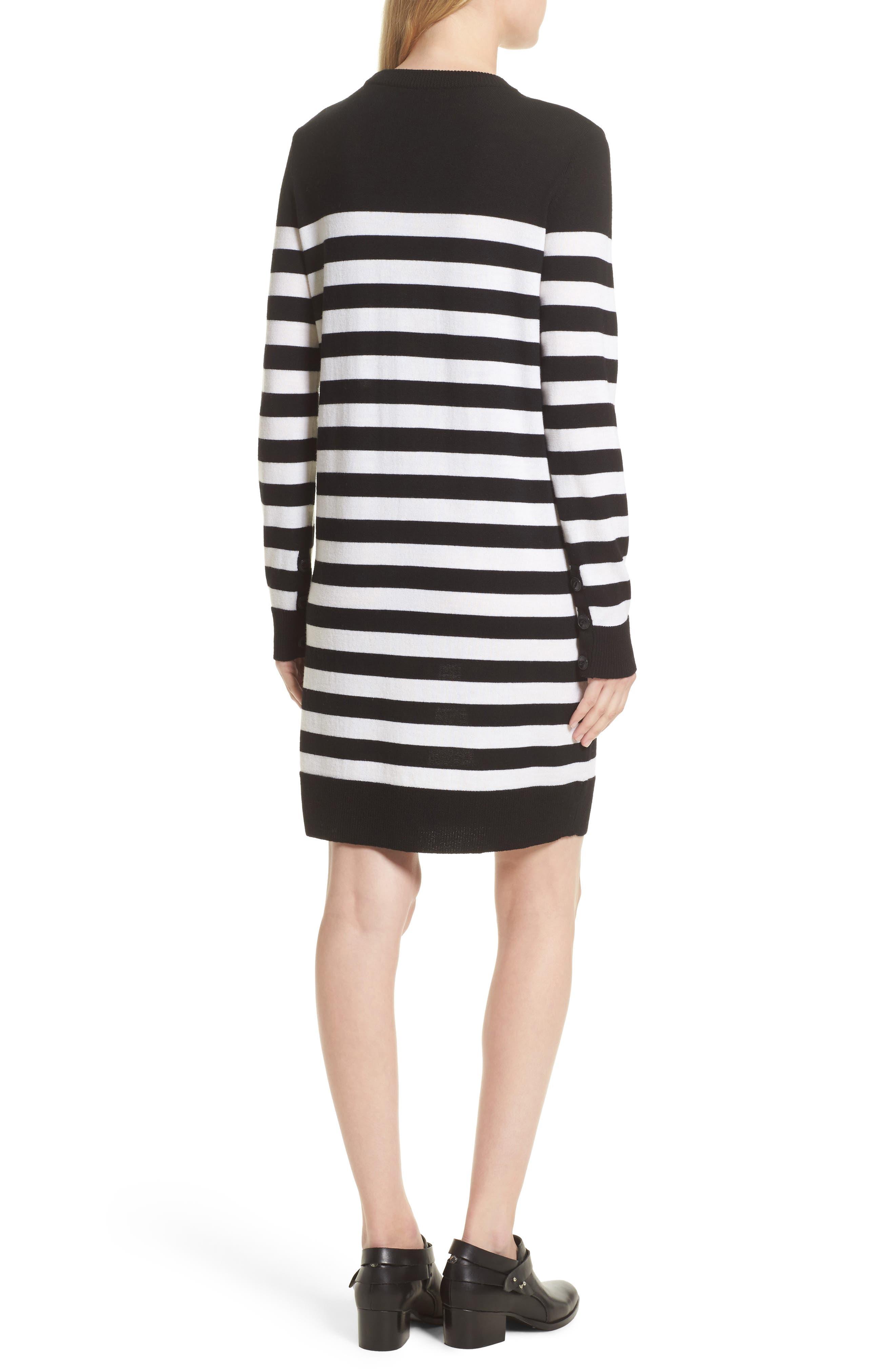 Alternate Image 3  - rag & bone Lilian Stripe Merino Wool Dress (Nordstrom Exclusive)