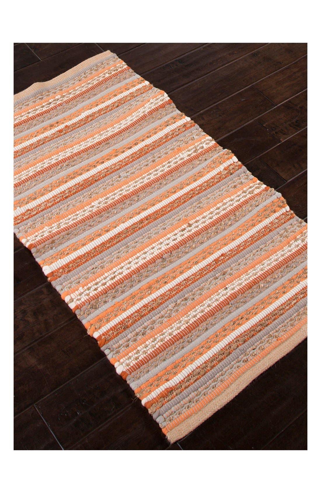 Alternate Image 3  - Jaipur 'Croydon' Cotton & Jute Accent Rug