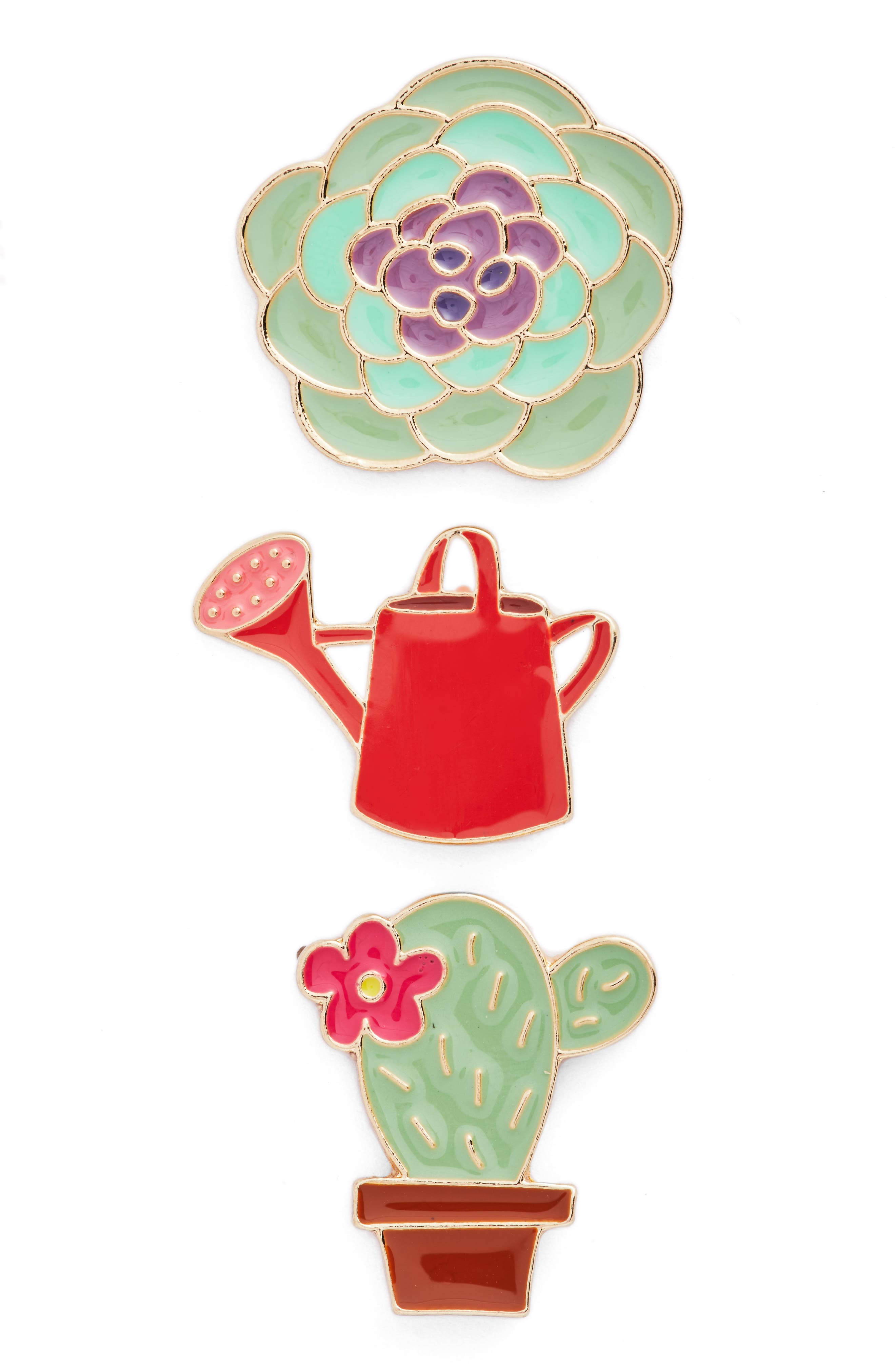 Berry Plant Pack of 3 Pins