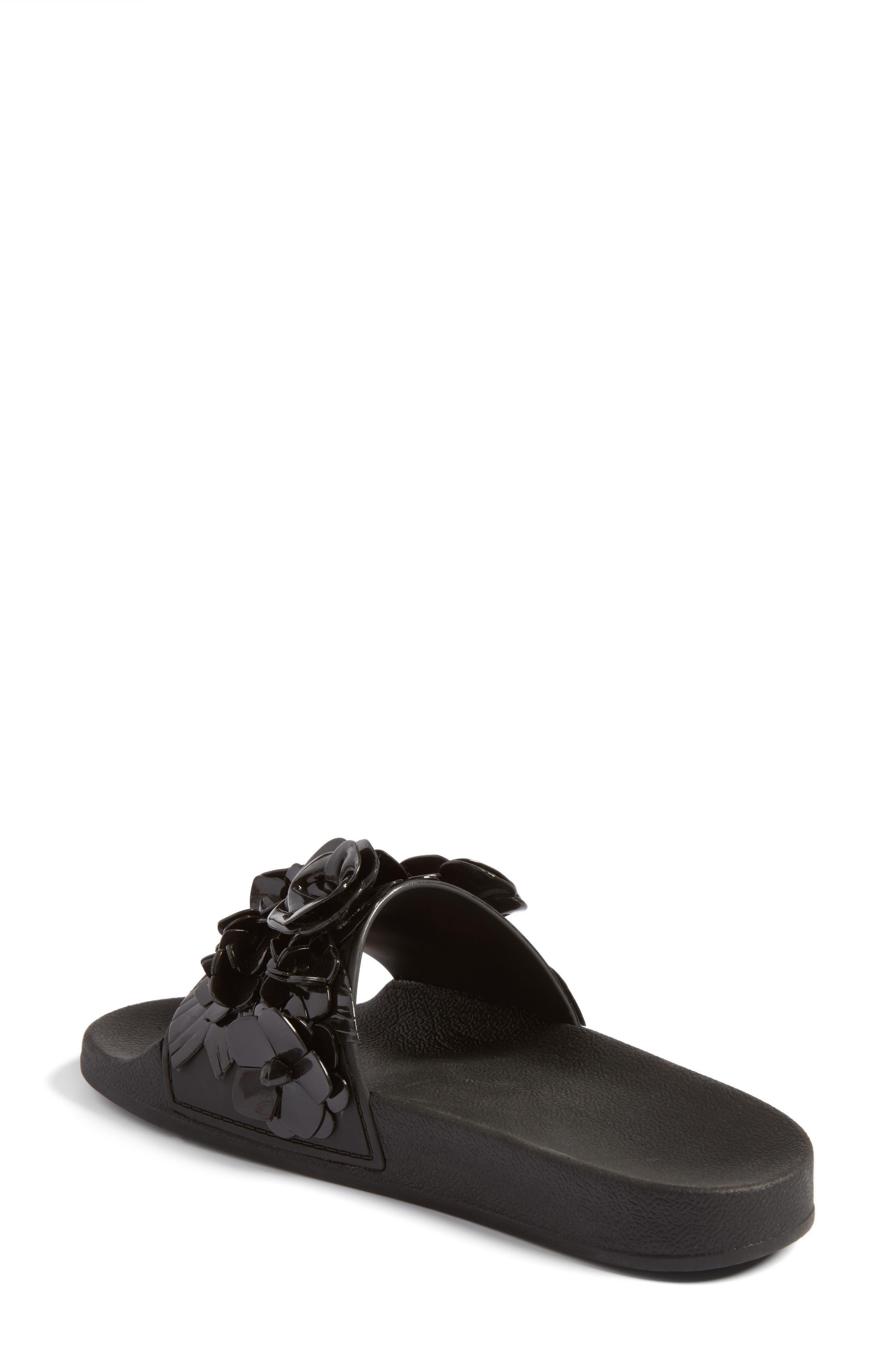 Black rainbow sandals with crystals - Black Rainbow Sandals With Crystals 9