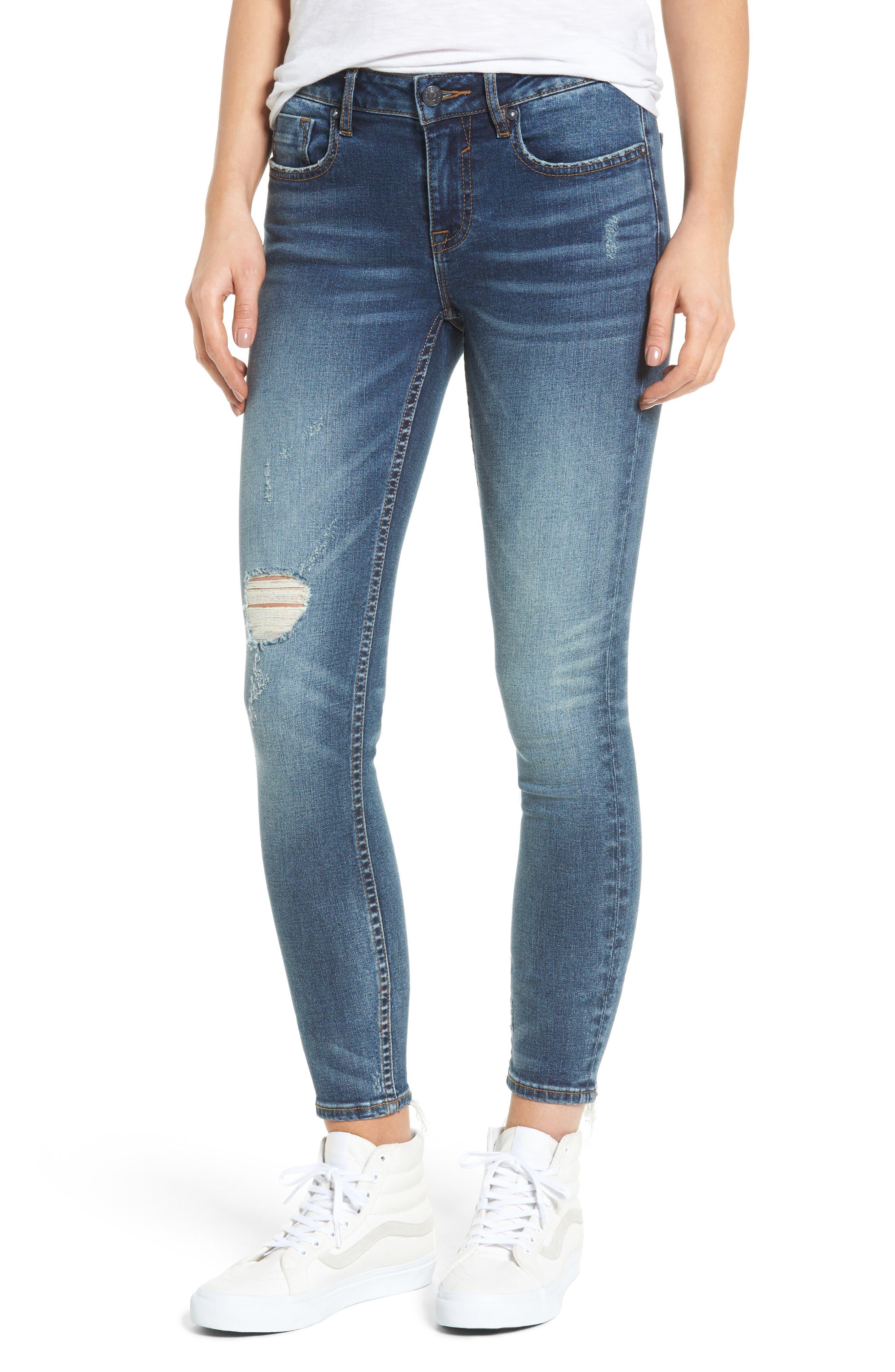 Vigoss Chelsea Ripped Skinny Jeans