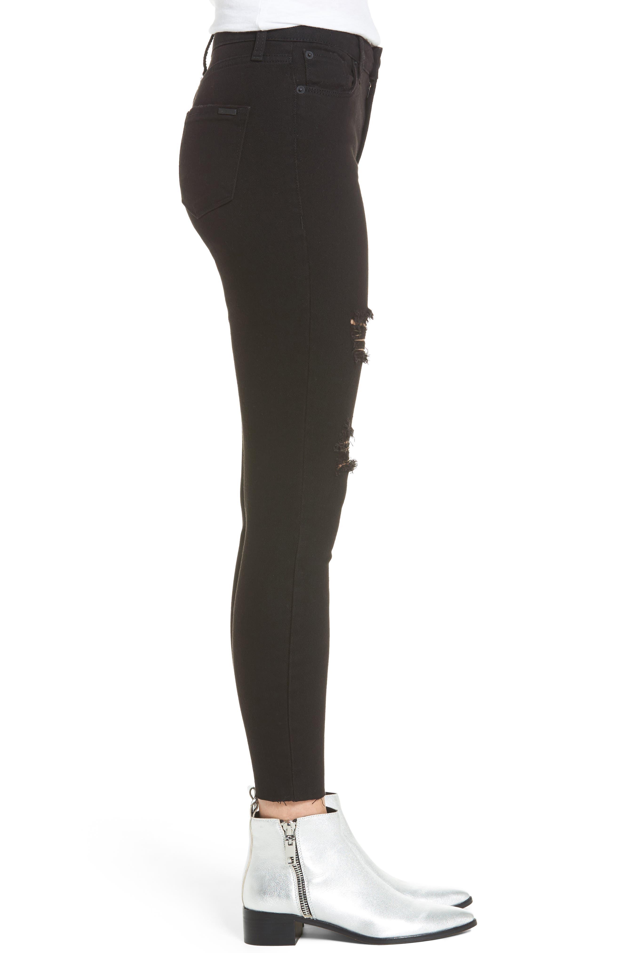 Alternate Image 3  - STS Blue Ashley High Waist Ankle Skinny Jeans