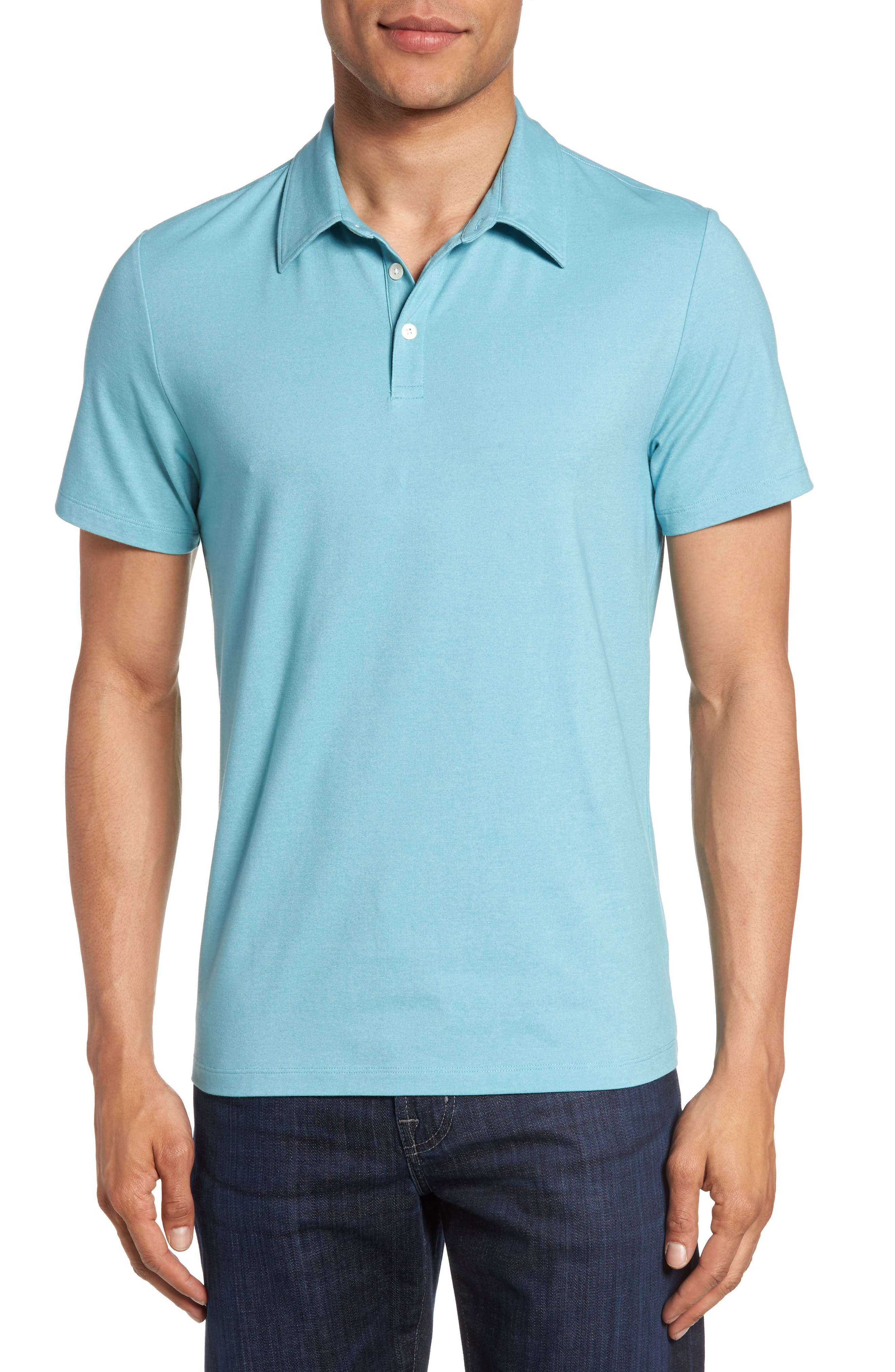 Zachary Prell Stretch Jersey Polo