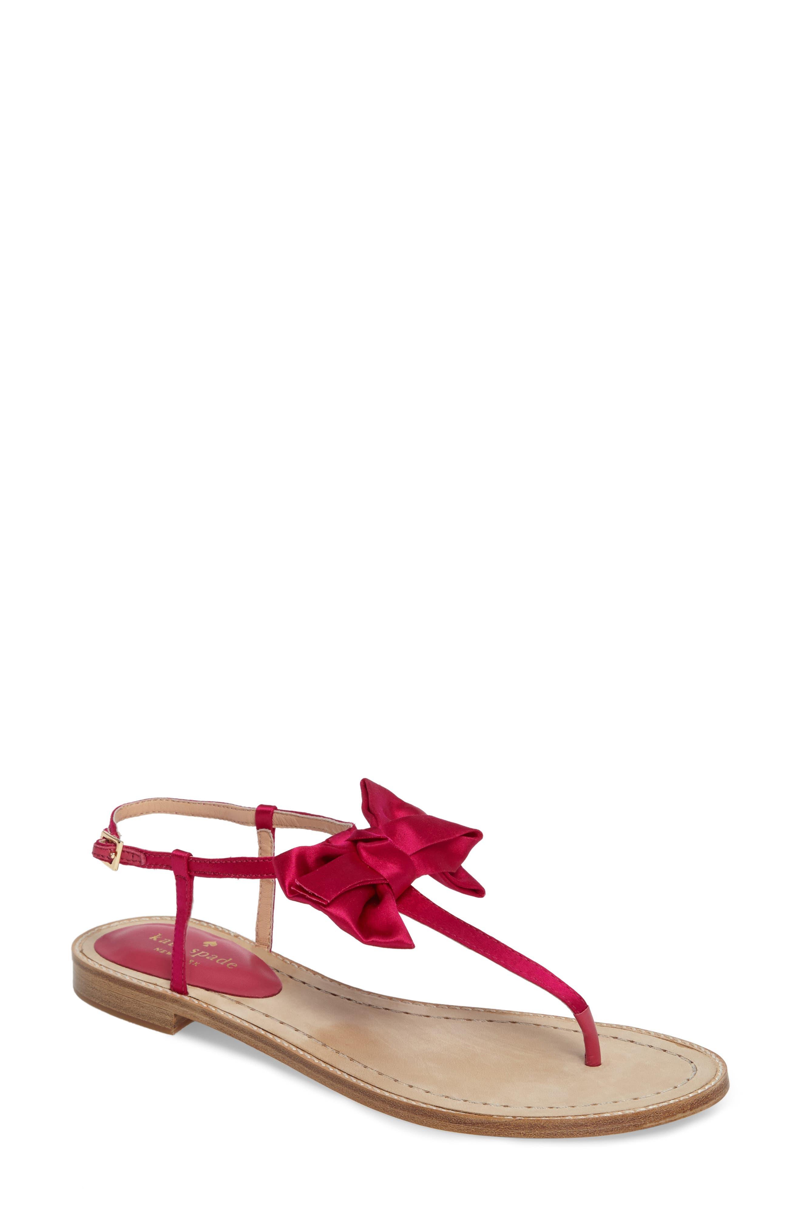 kate spade new york serrano bow sandal (Women)