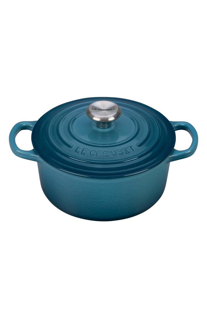 Le Creuset Signature 2 Quart Oval Enamel Cast Iron French