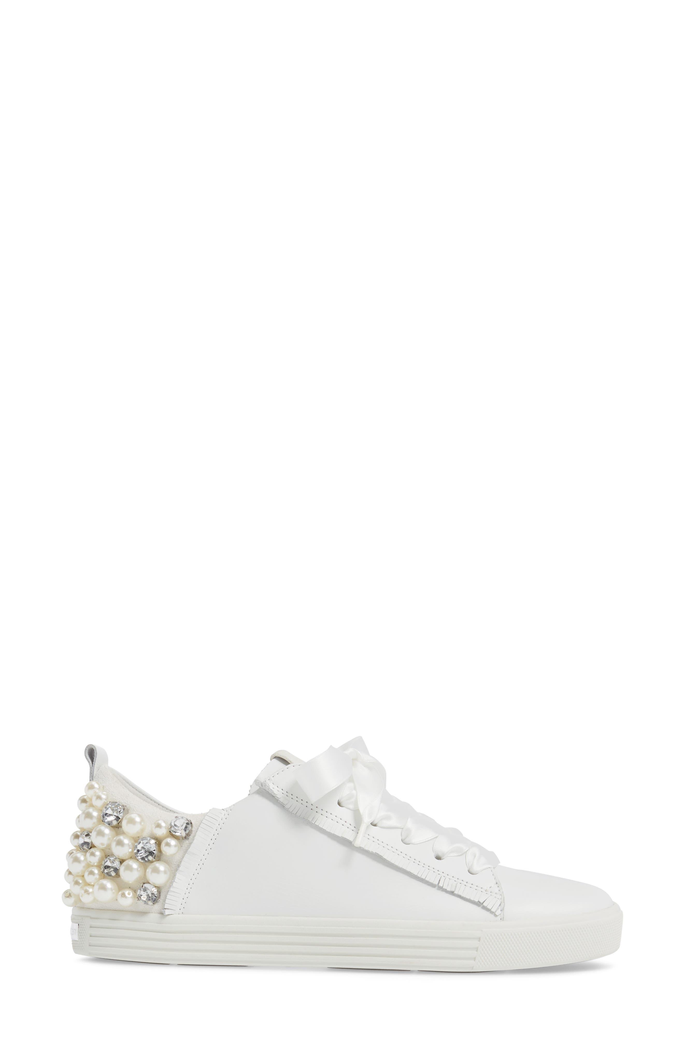 Alternate Image 3  - Kennel & Schmenger Town Flower Sneaker (Women)