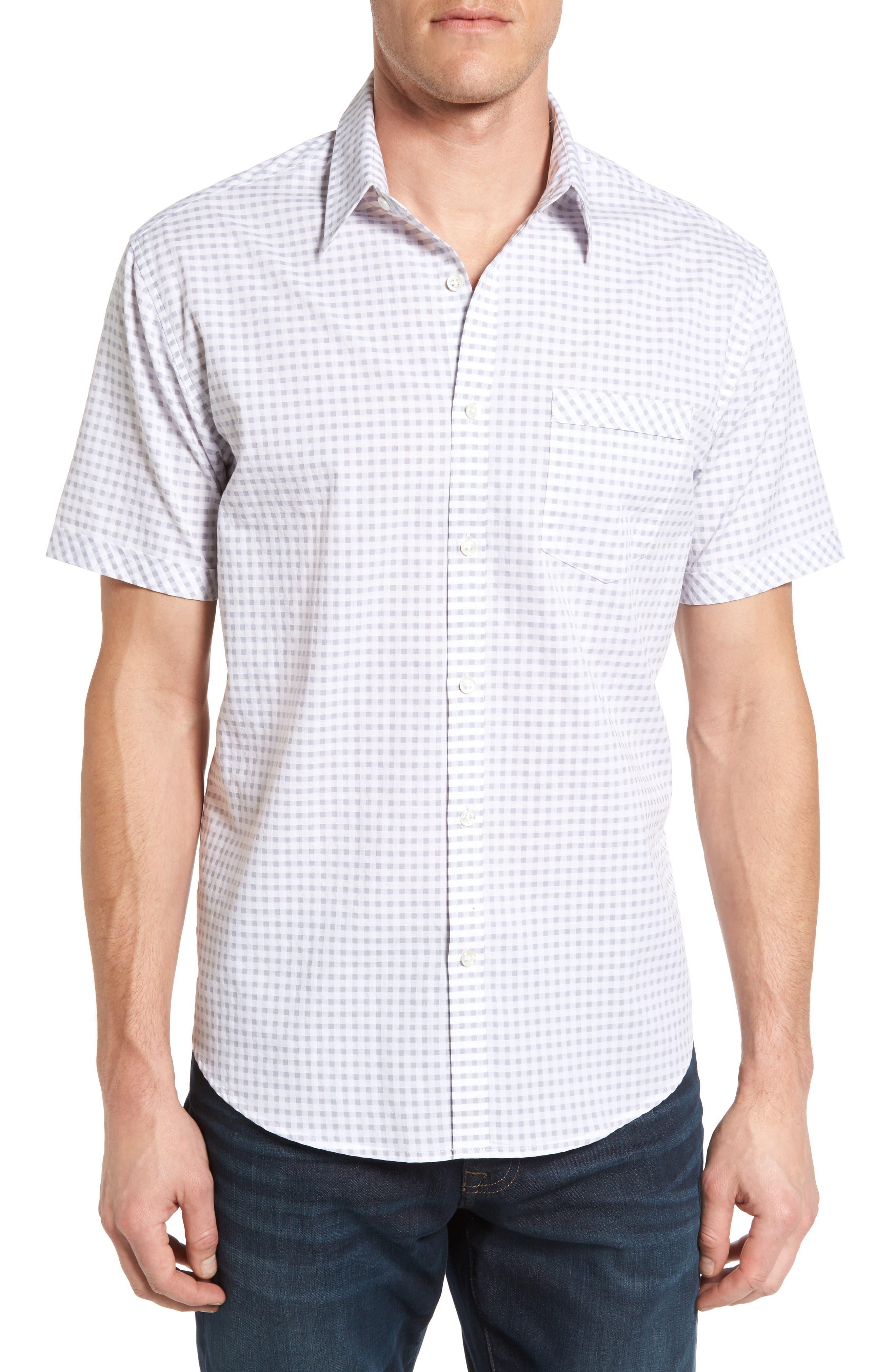James Campbell Colina Regular Fit Short Sleeve Sport Shirt