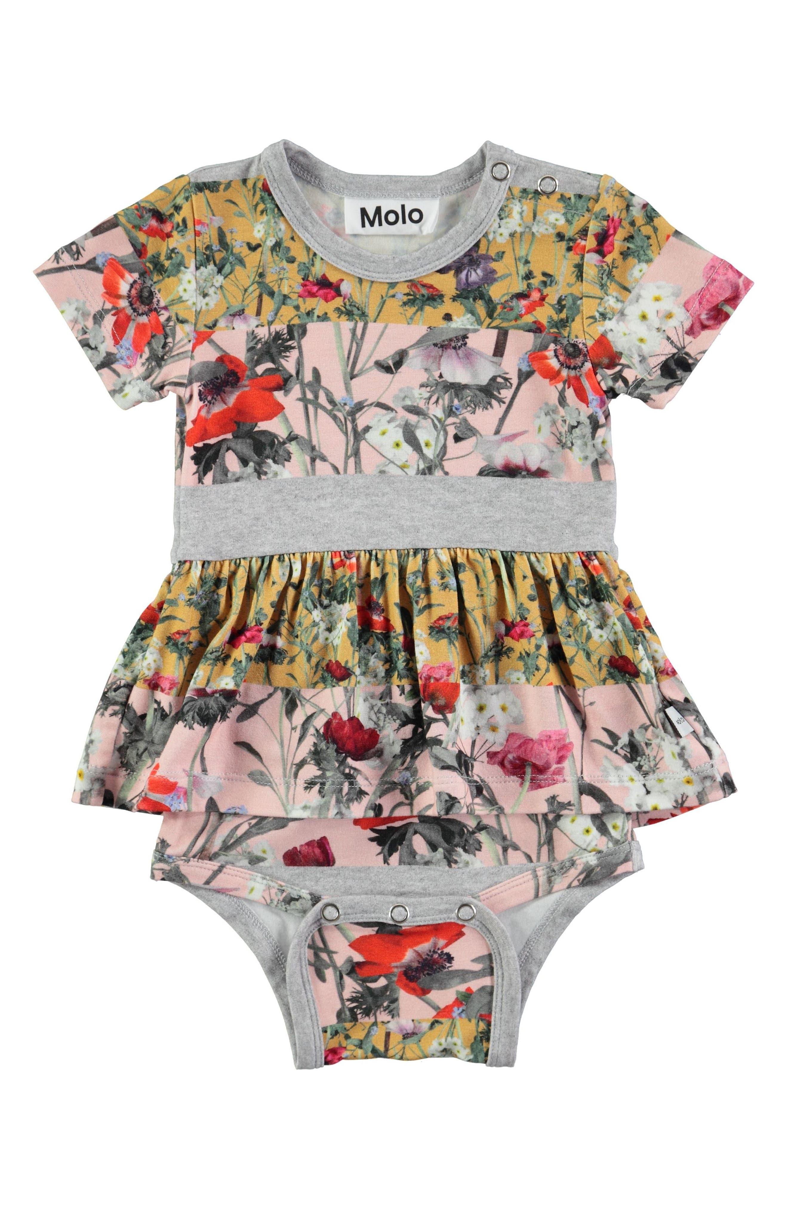 Molo Frannie Skirted Bodysuit (Baby Girls)