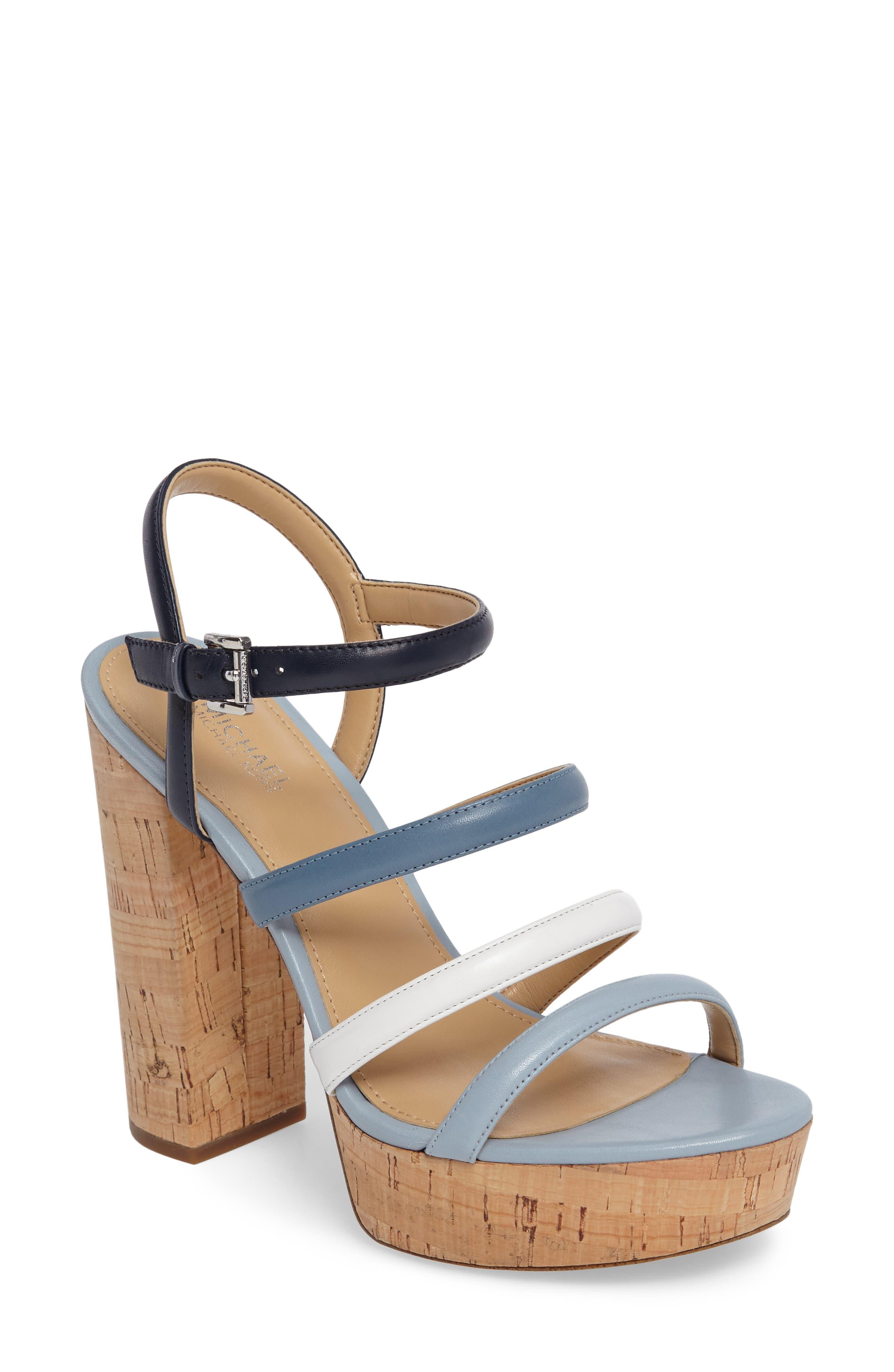 MICHAEL Michael Kors Nantucket Platform Sandal (Women)