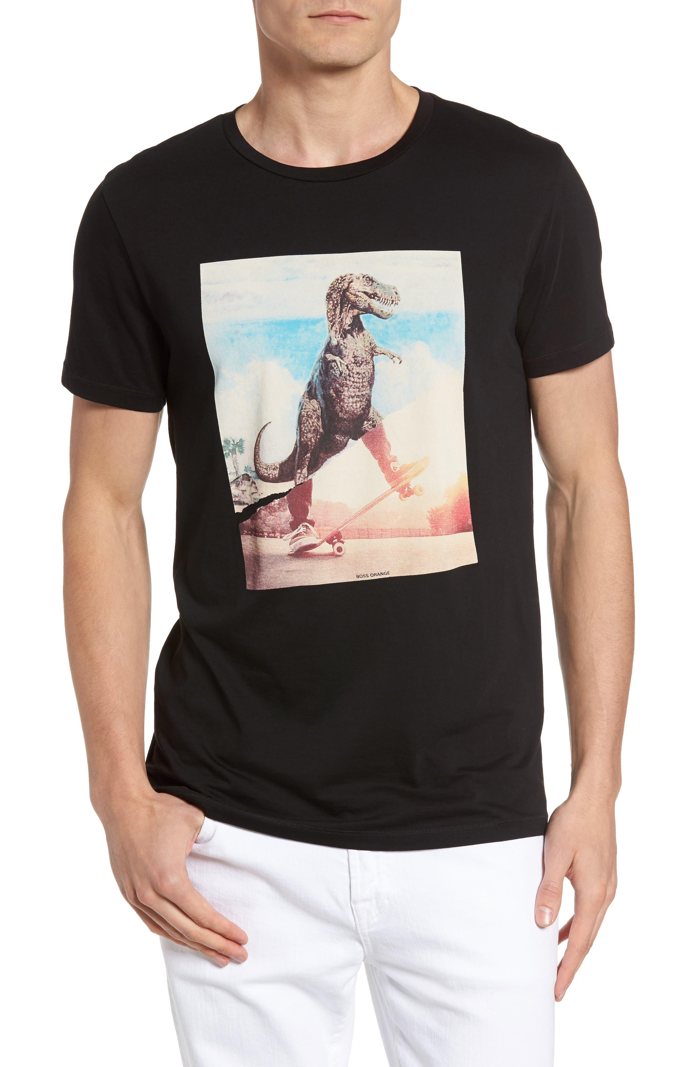 BOSS Orange Tintype 4 Graphic T-Shirt