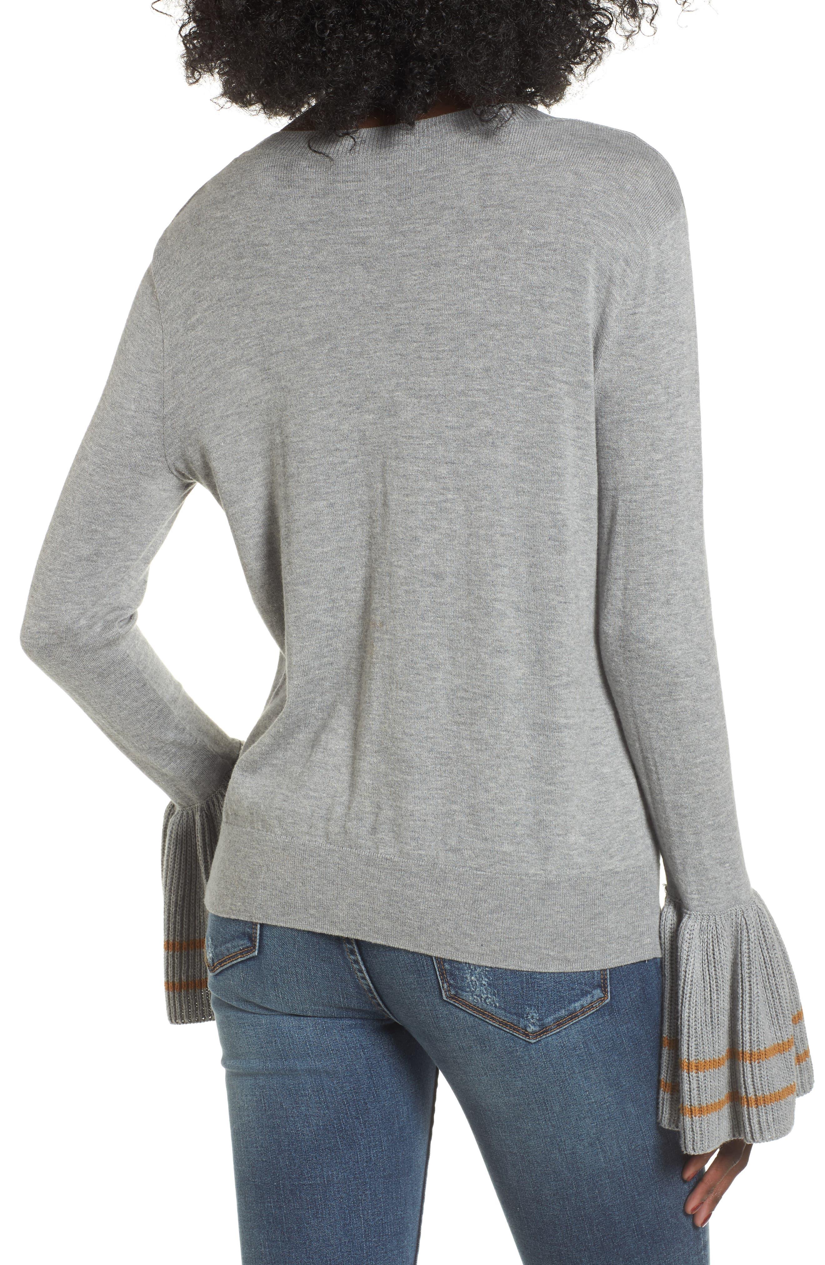 Alternate Image 2  - BP. Ruffle Bell Cuff Sweater