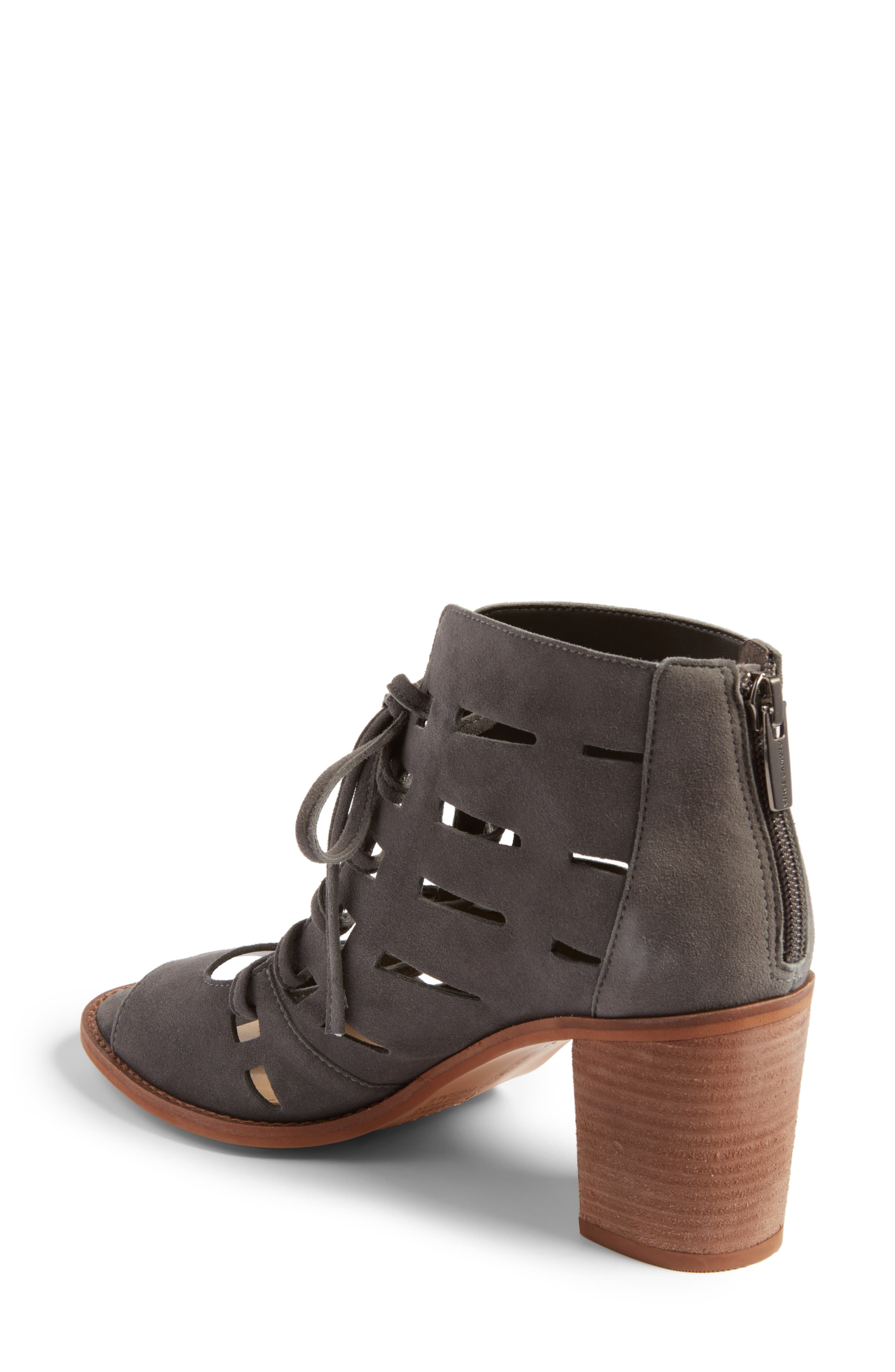 Alternate Image 2  - Vince Camuto Tressa Perforated Lace-Up Sandal (Women)