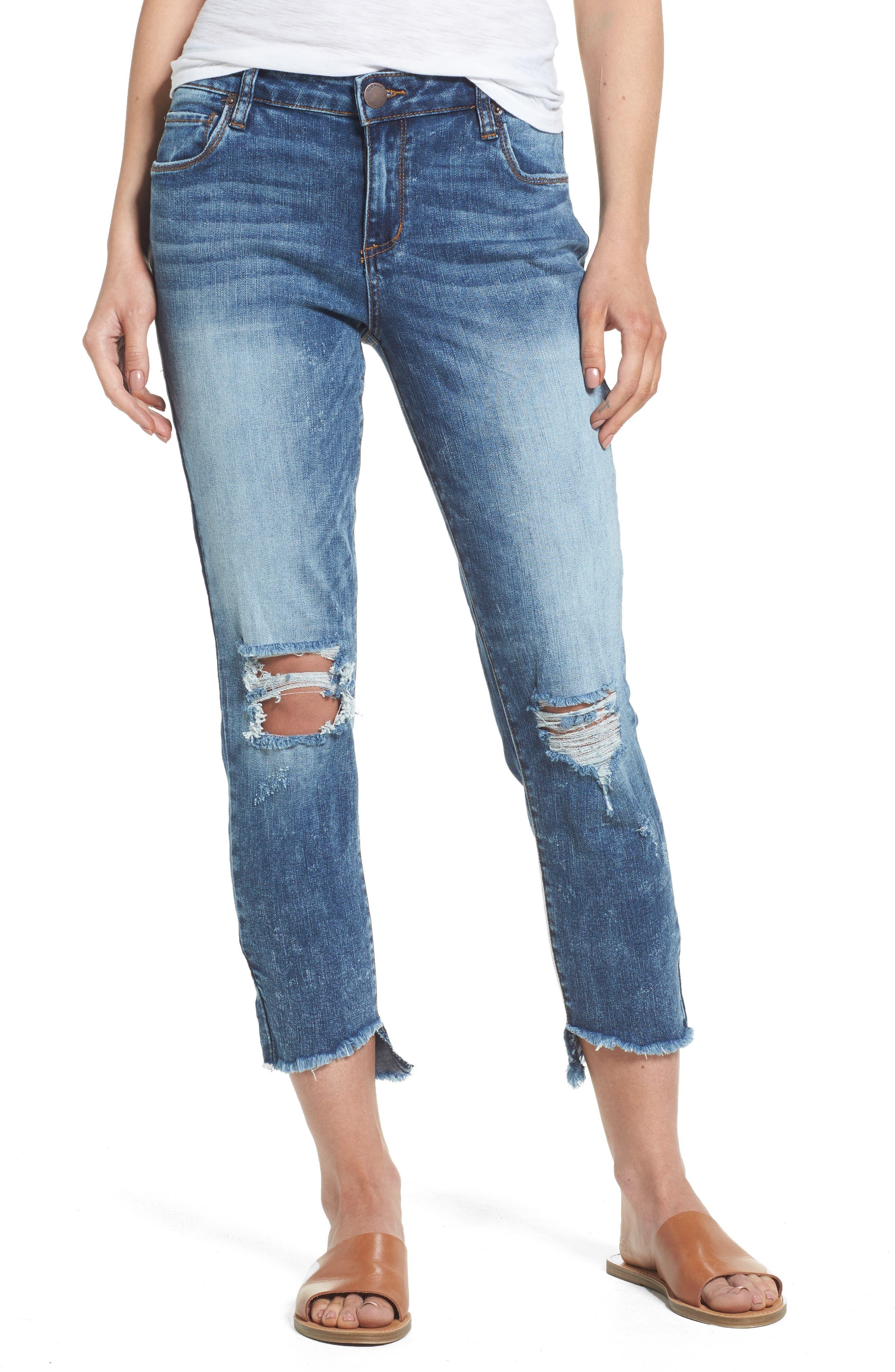 STS Blue Taylor Step Hem Ripped Jeans (Altamont)